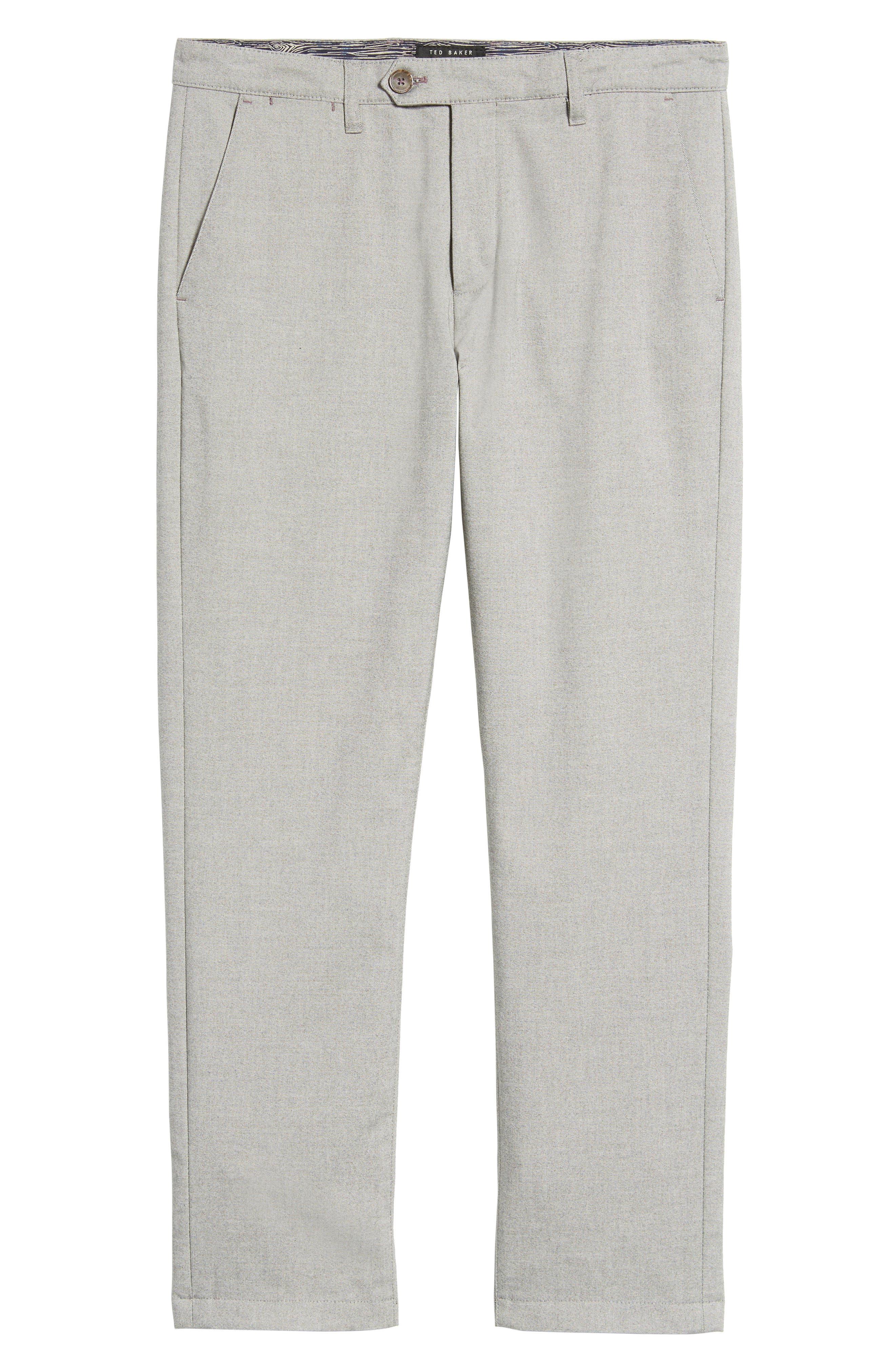 Modern Slim Fit Trousers,                             Alternate thumbnail 17, color,