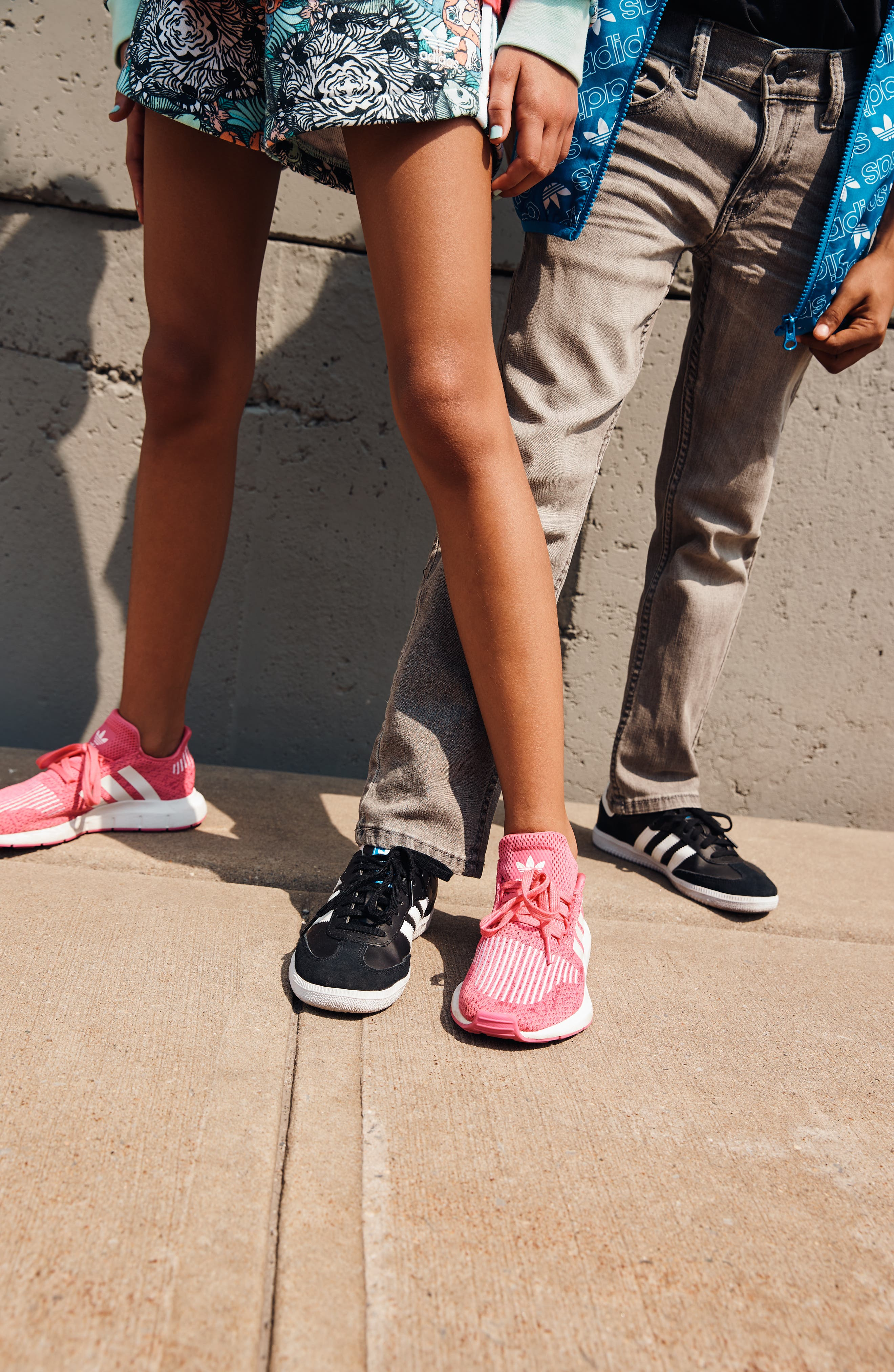 Swift Run J Sneaker,                             Alternate thumbnail 10, color,                             SEMI SOLAR PINK/ WHITE