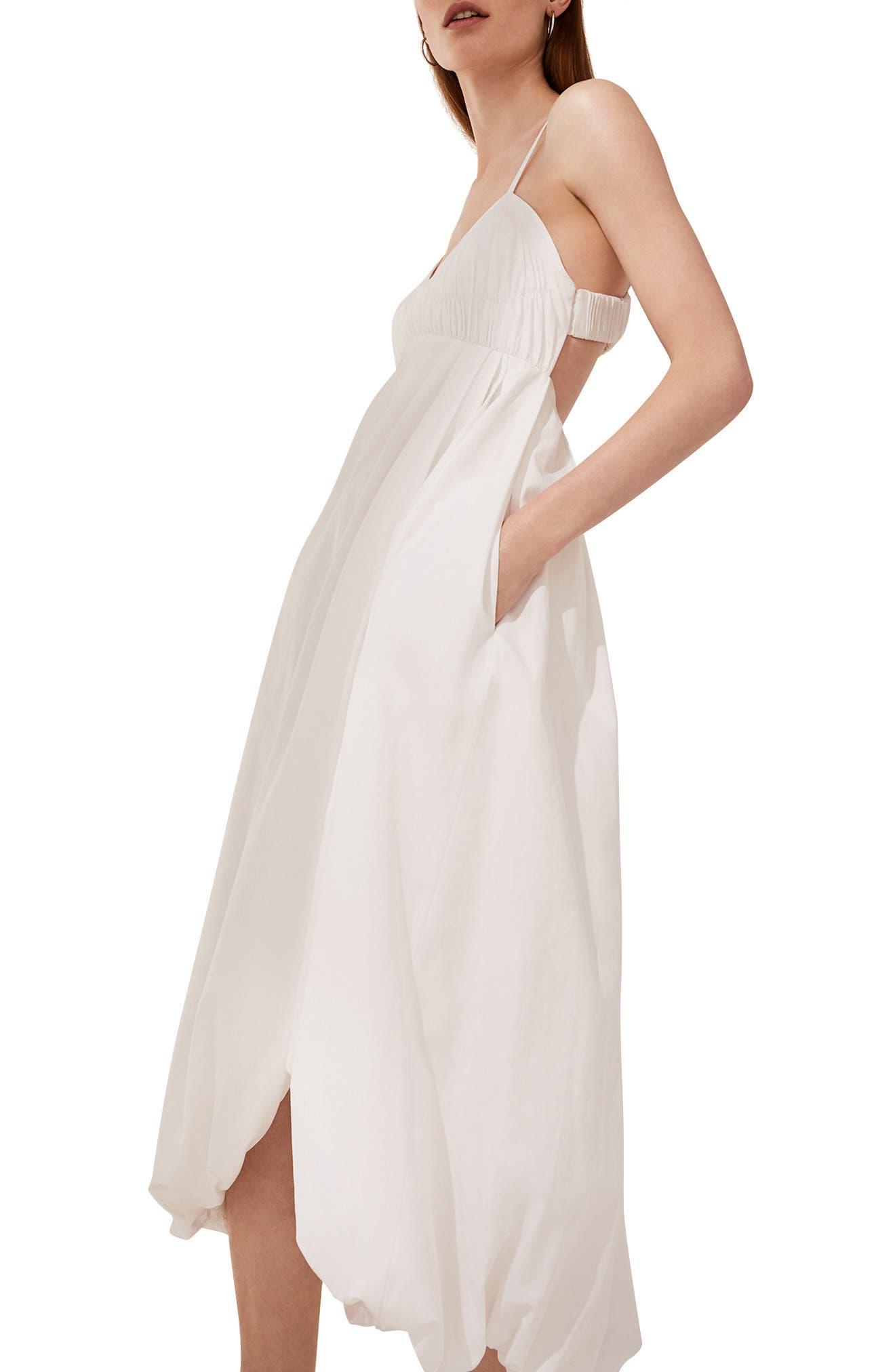 Bubble Hem Dress,                             Alternate thumbnail 5, color,                             400