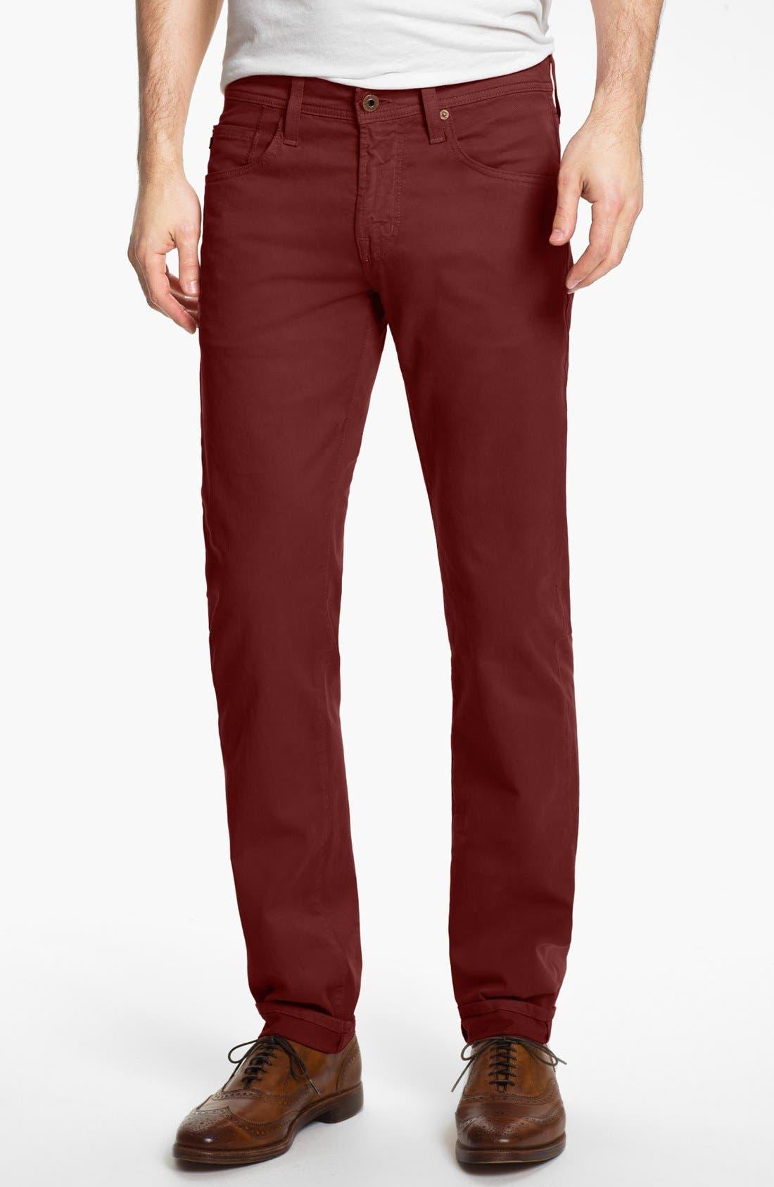 'Matchbox BES' Slim Fit Pants,                             Main thumbnail 40, color,