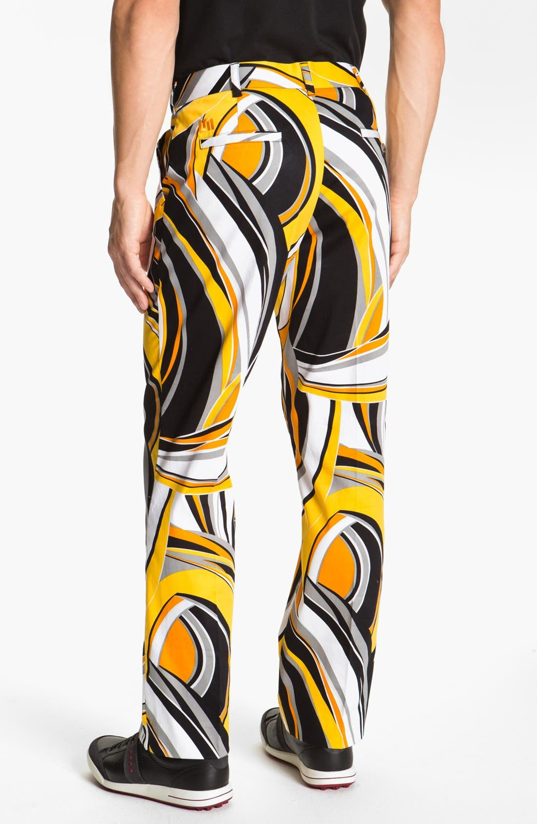 LOUD MOUTH GOLF,                             Loudmouth Golf 'Swirls Gone Wild' Golf Pants,                             Alternate thumbnail 3, color,                             700