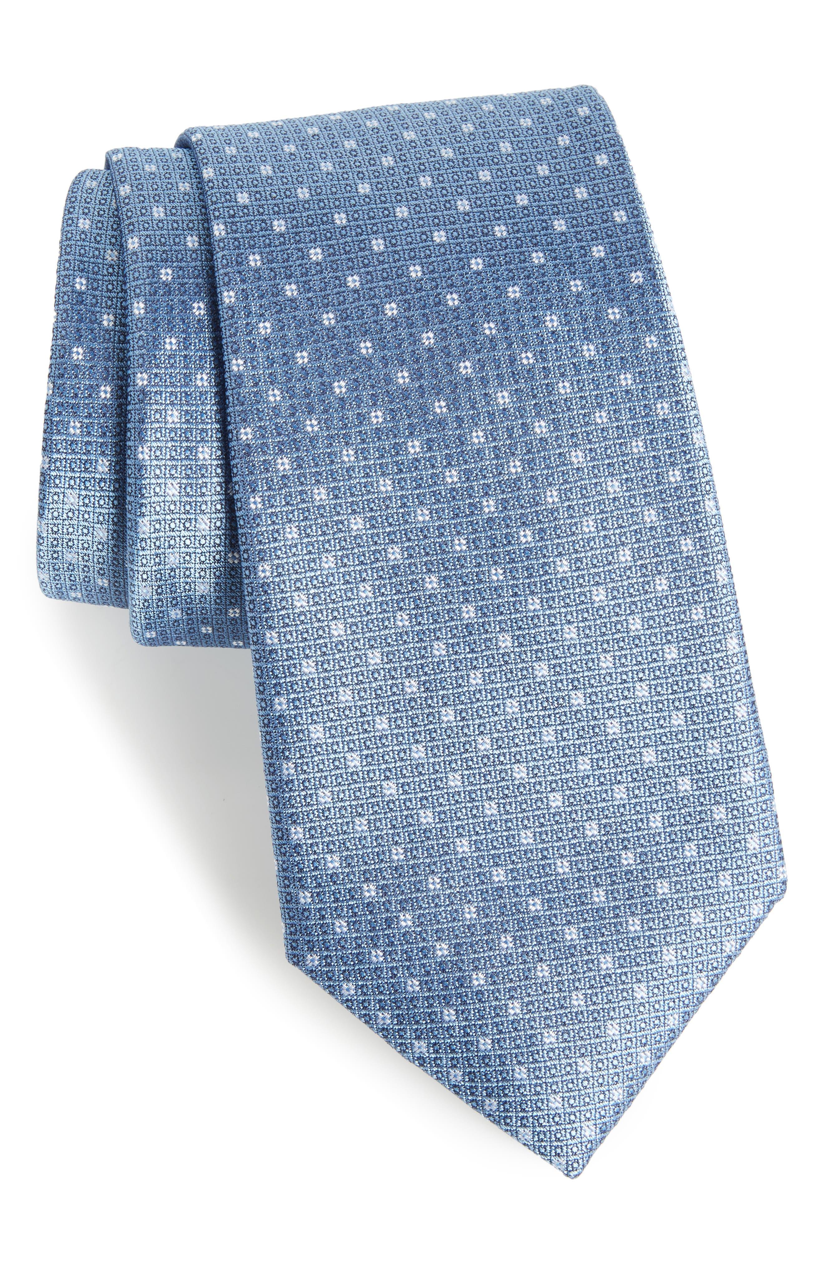 Denson Neat Silk Tie,                             Main thumbnail 4, color,
