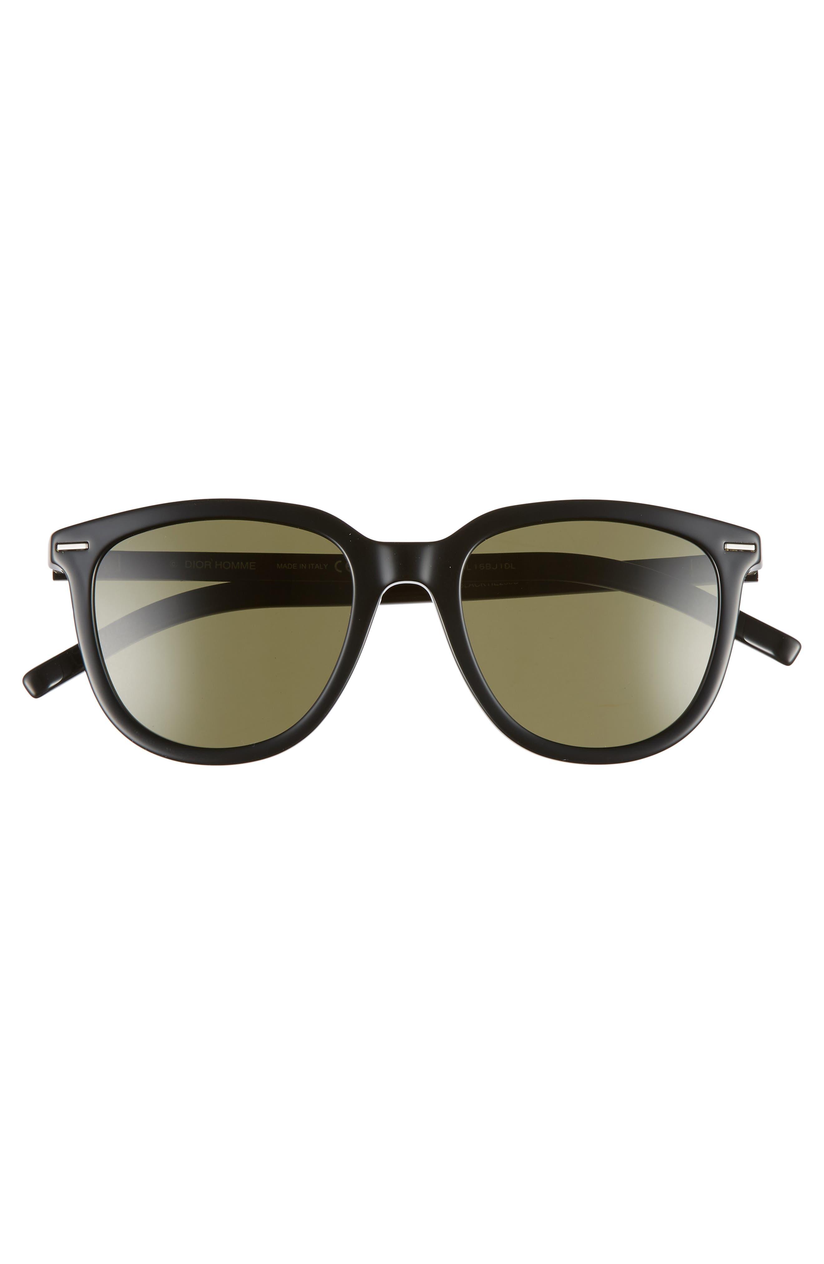 51mm Sunglasses,                             Alternate thumbnail 3, color,                             BLACK