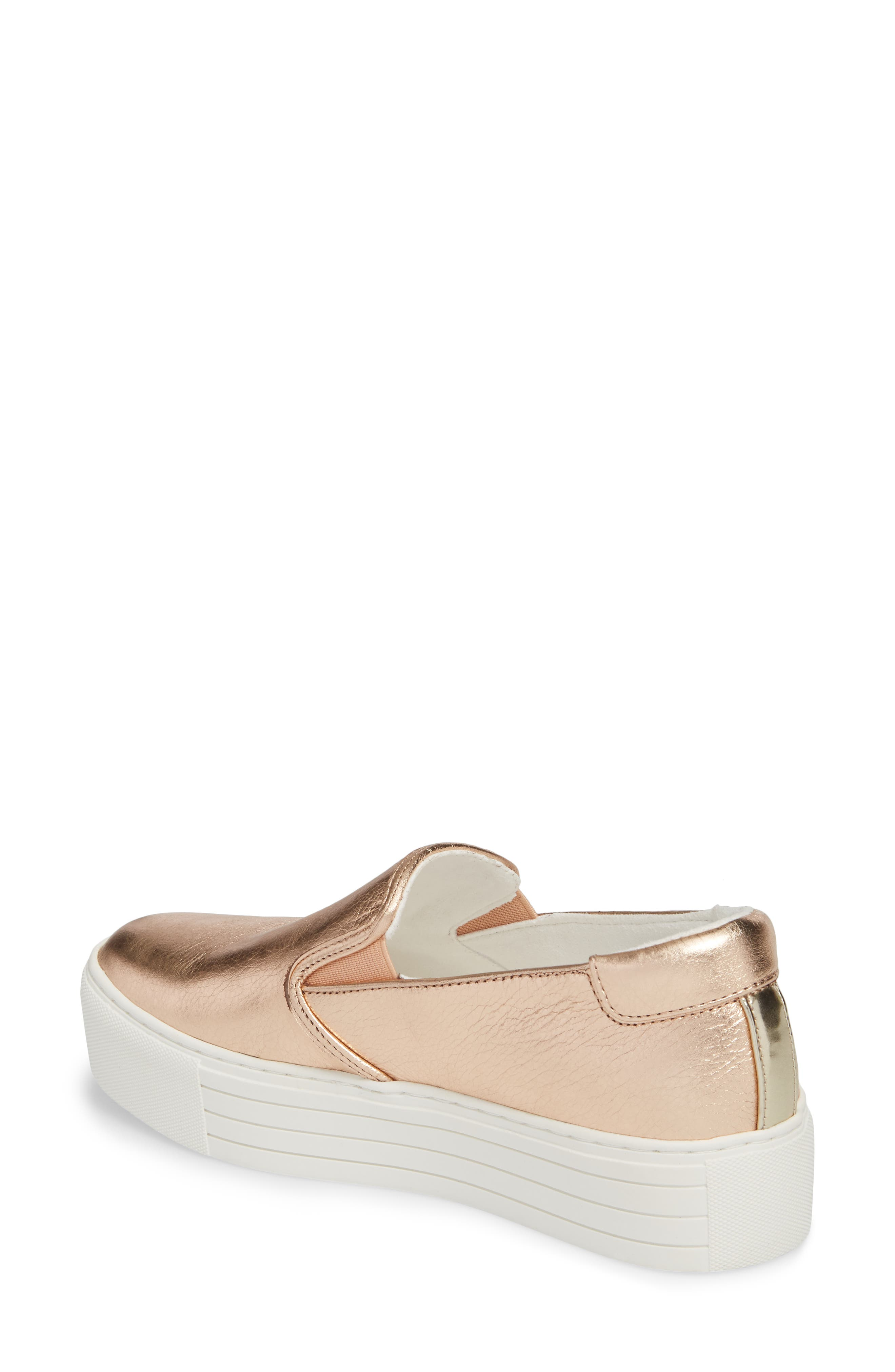 Joanie Slip-On Platform Sneaker,                             Alternate thumbnail 17, color,