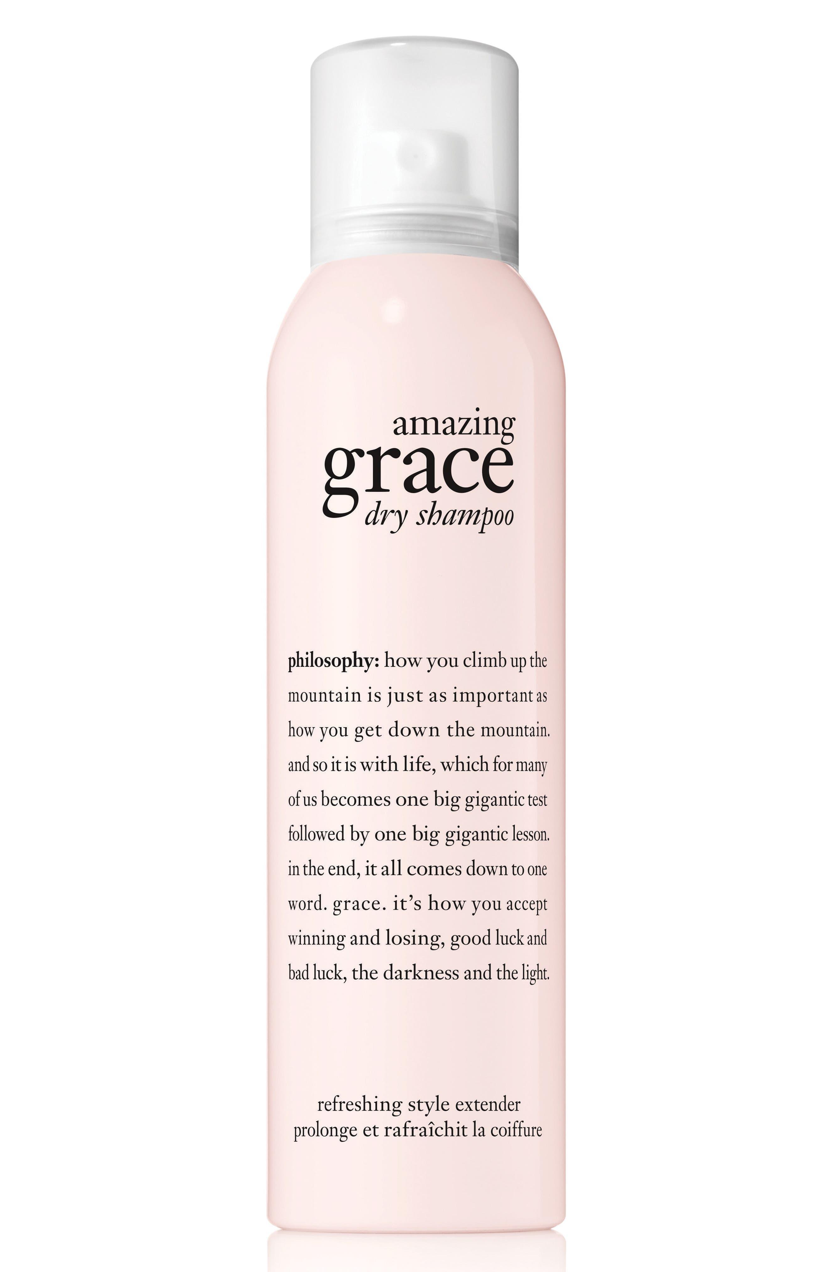 amazing grace dry shampoo,                         Main,                         color, NO COLOR