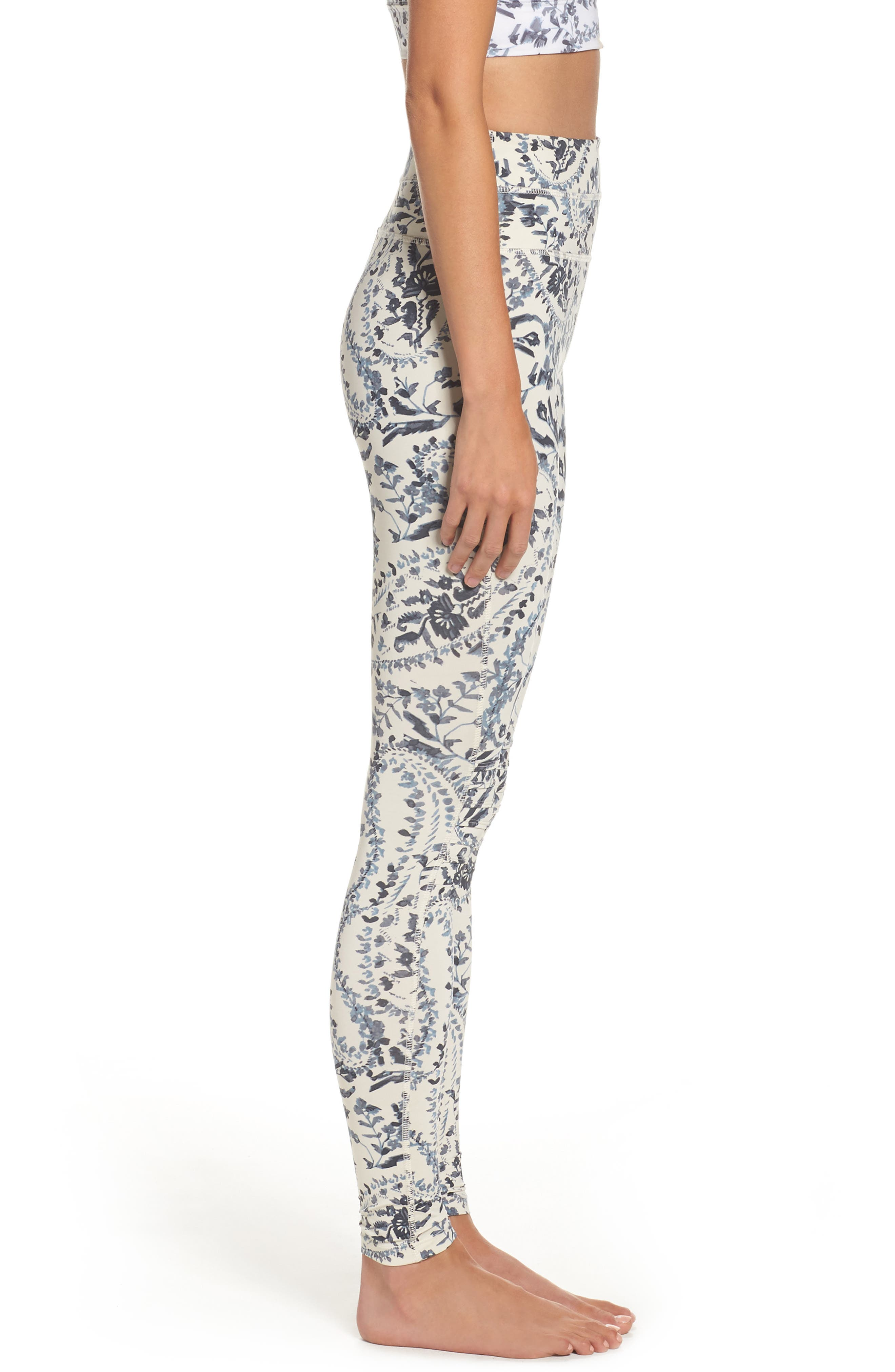 FP Movement Print City Slicker High Waist Leggings,                             Alternate thumbnail 3, color,                             400