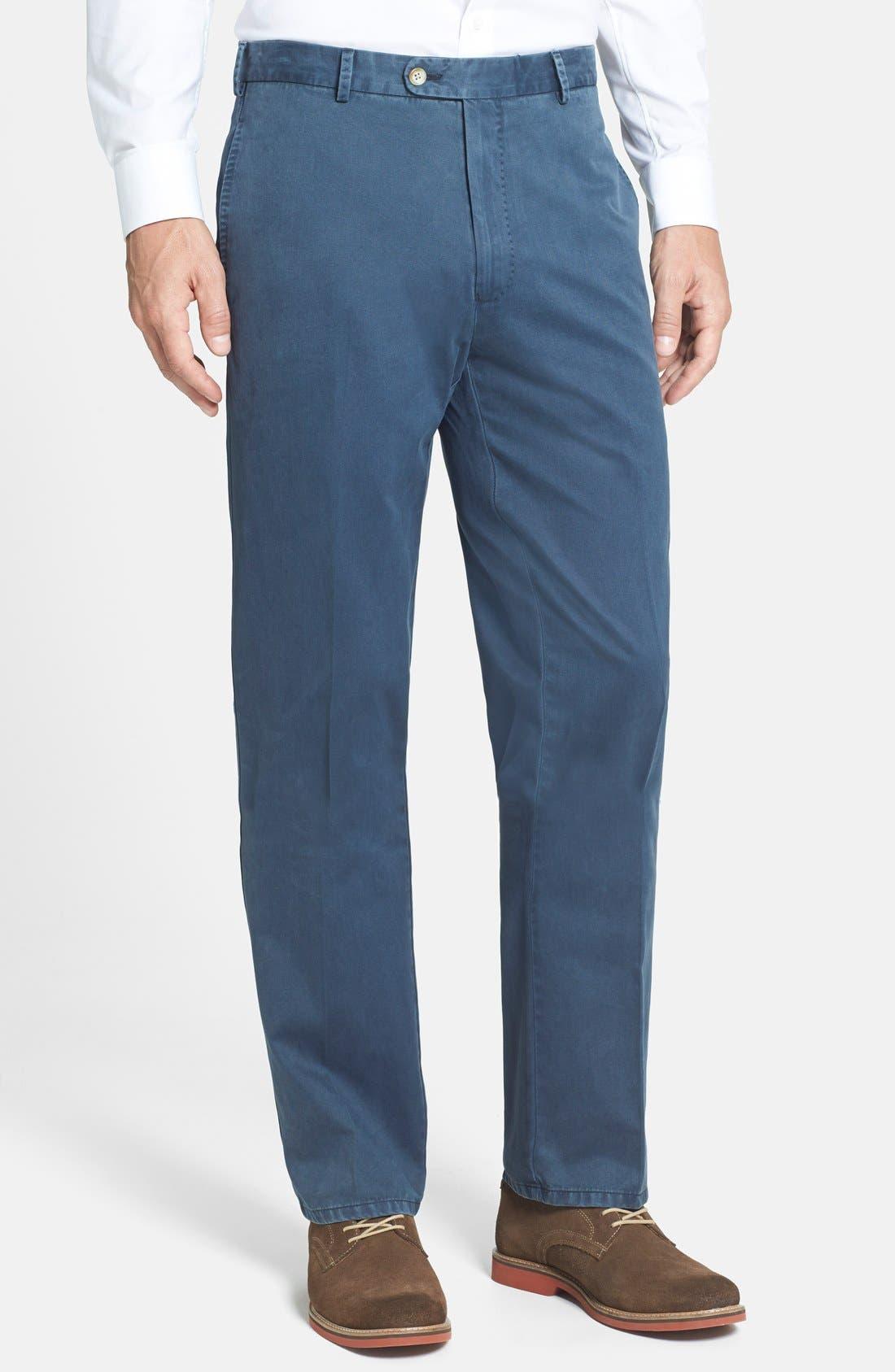 Garment Washed Twill Pants,                             Main thumbnail 10, color,