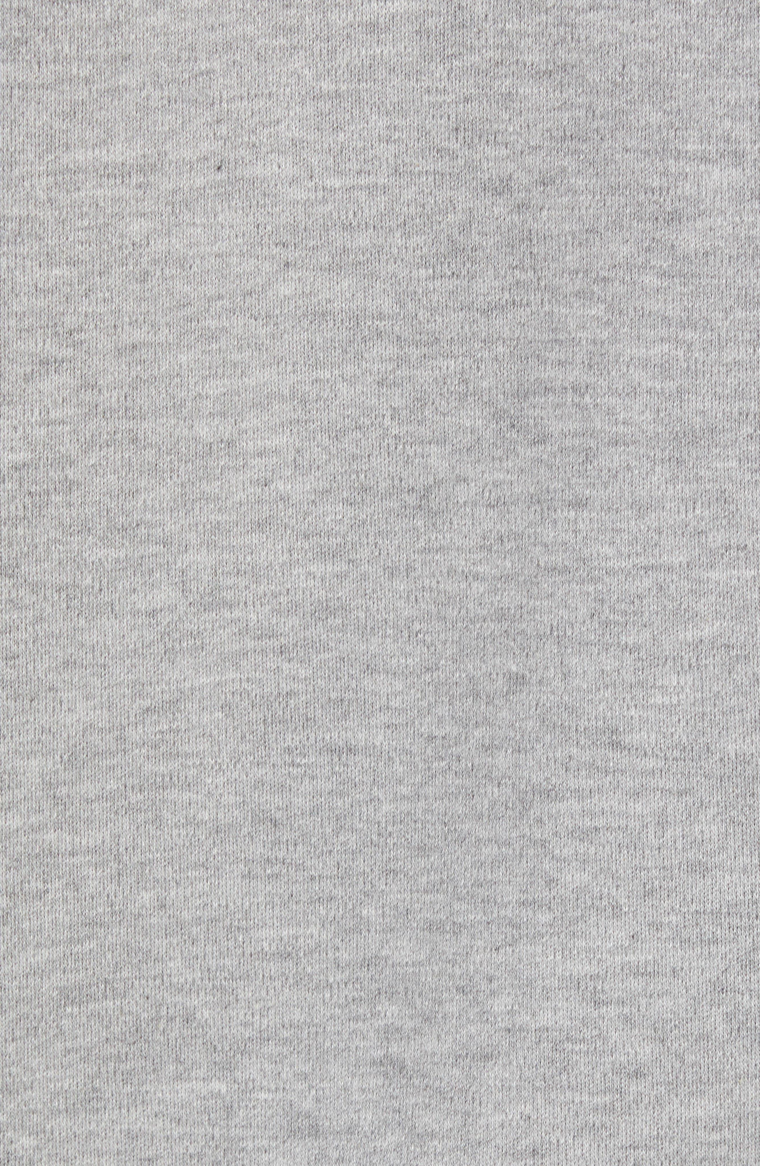 adidas NMD Zip Hoodie,                             Alternate thumbnail 5, color,                             MED GREY HEATHER