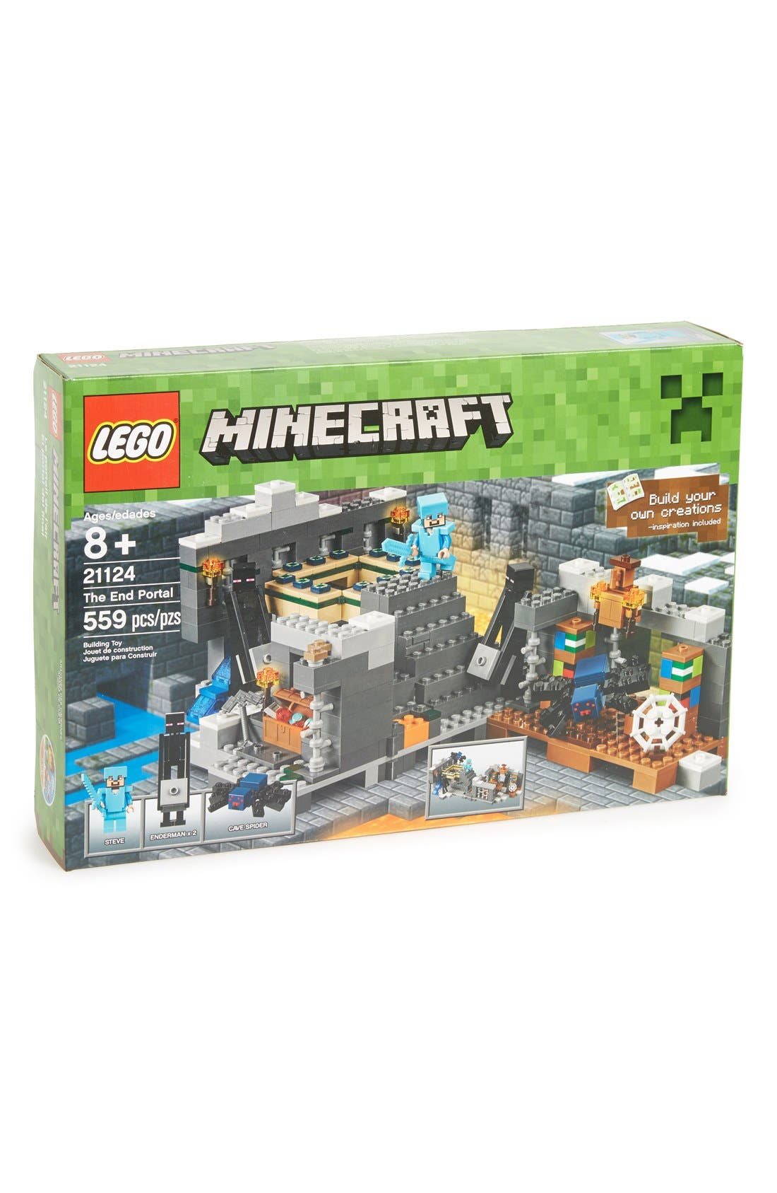 Minecraft<sup>™</sup> The End Portal - 21124,                             Main thumbnail 1, color,                             300