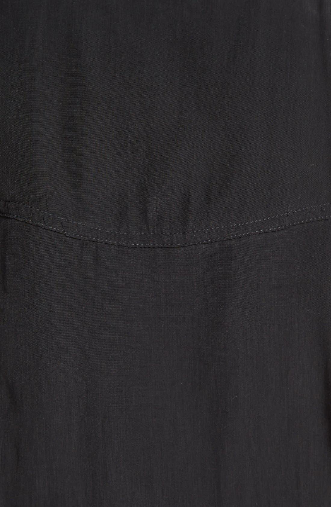 Wrap Front Jumpsuit,                             Alternate thumbnail 3, color,                             001