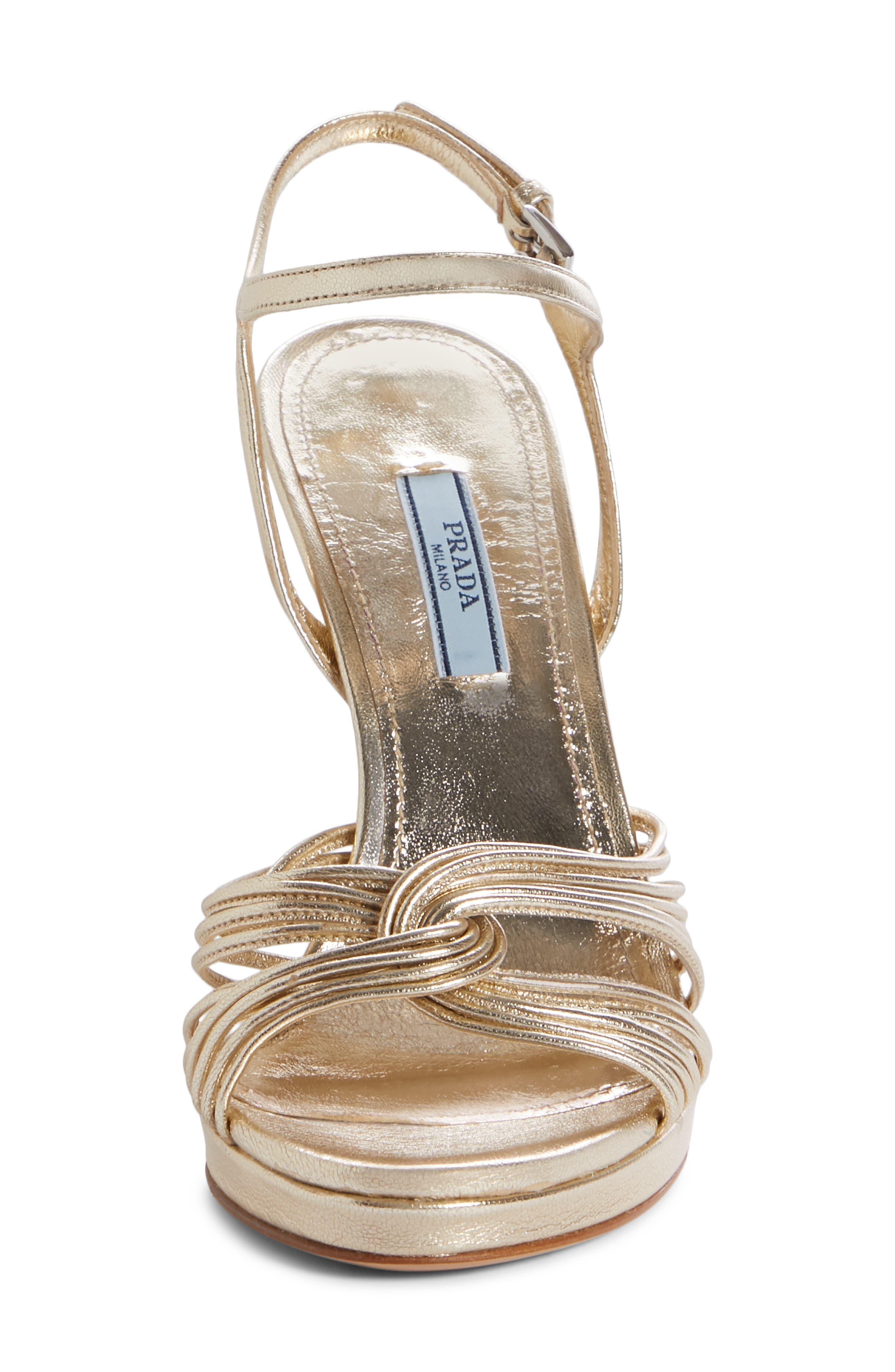 Roping Ankle Strap Sandal,                             Alternate thumbnail 4, color,                             PIRITE LEATHER
