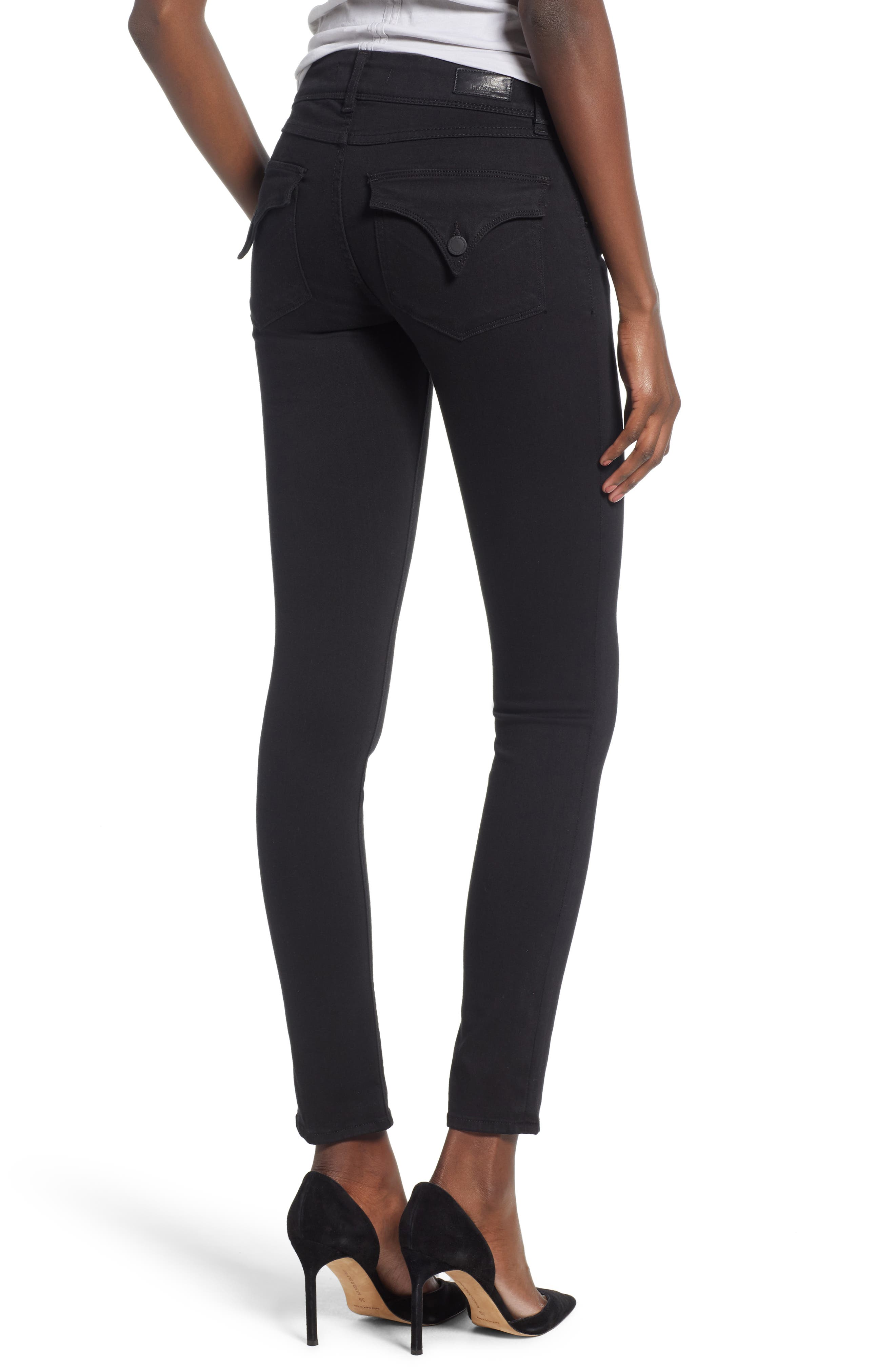 Collin Skinny Jeans,                             Alternate thumbnail 2, color,                             BLACK