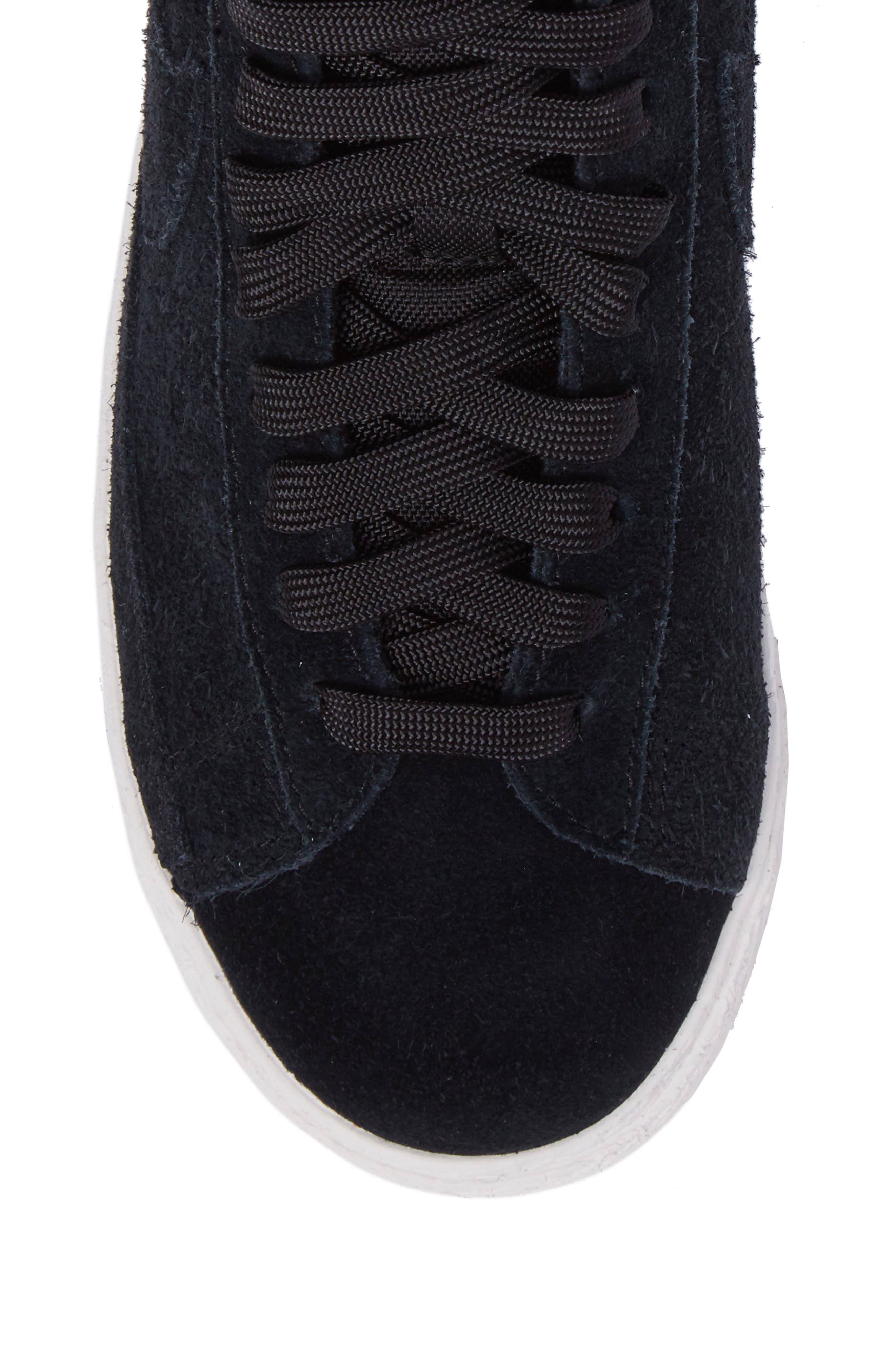 Blazer Mid High Top Sneaker,                             Alternate thumbnail 5, color,                             003
