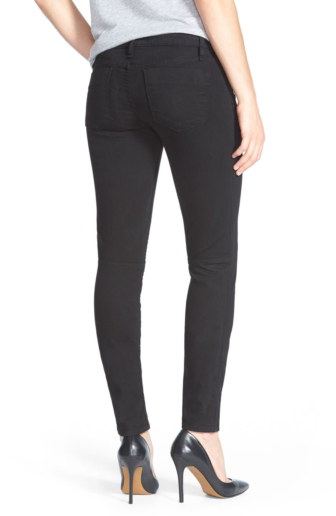 'Ace Utility' Stretch Skinny Pants,                             Alternate thumbnail 3, color,                             001