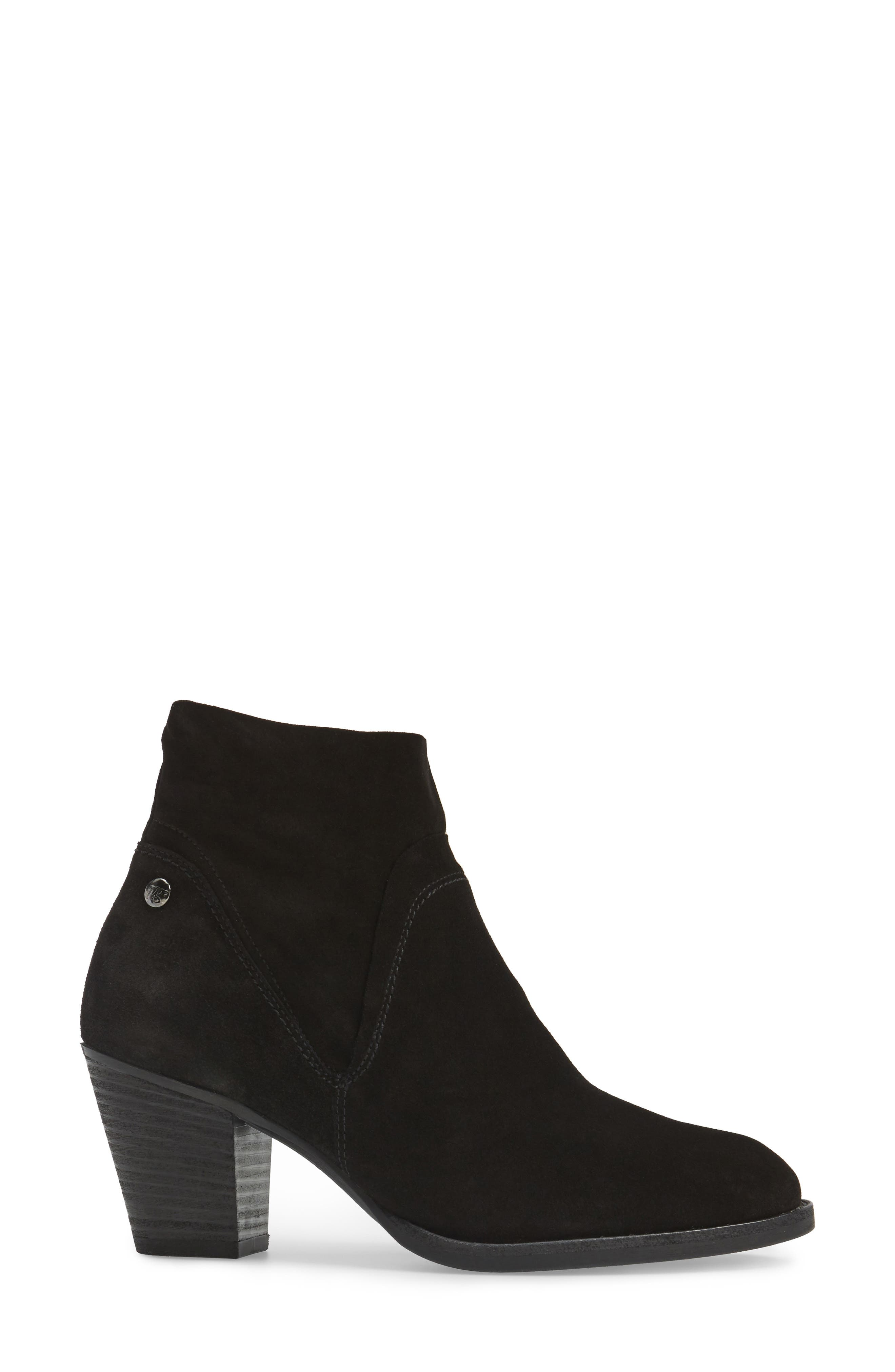 Nora Water Resistant Bootie,                             Alternate thumbnail 3, color,                             003