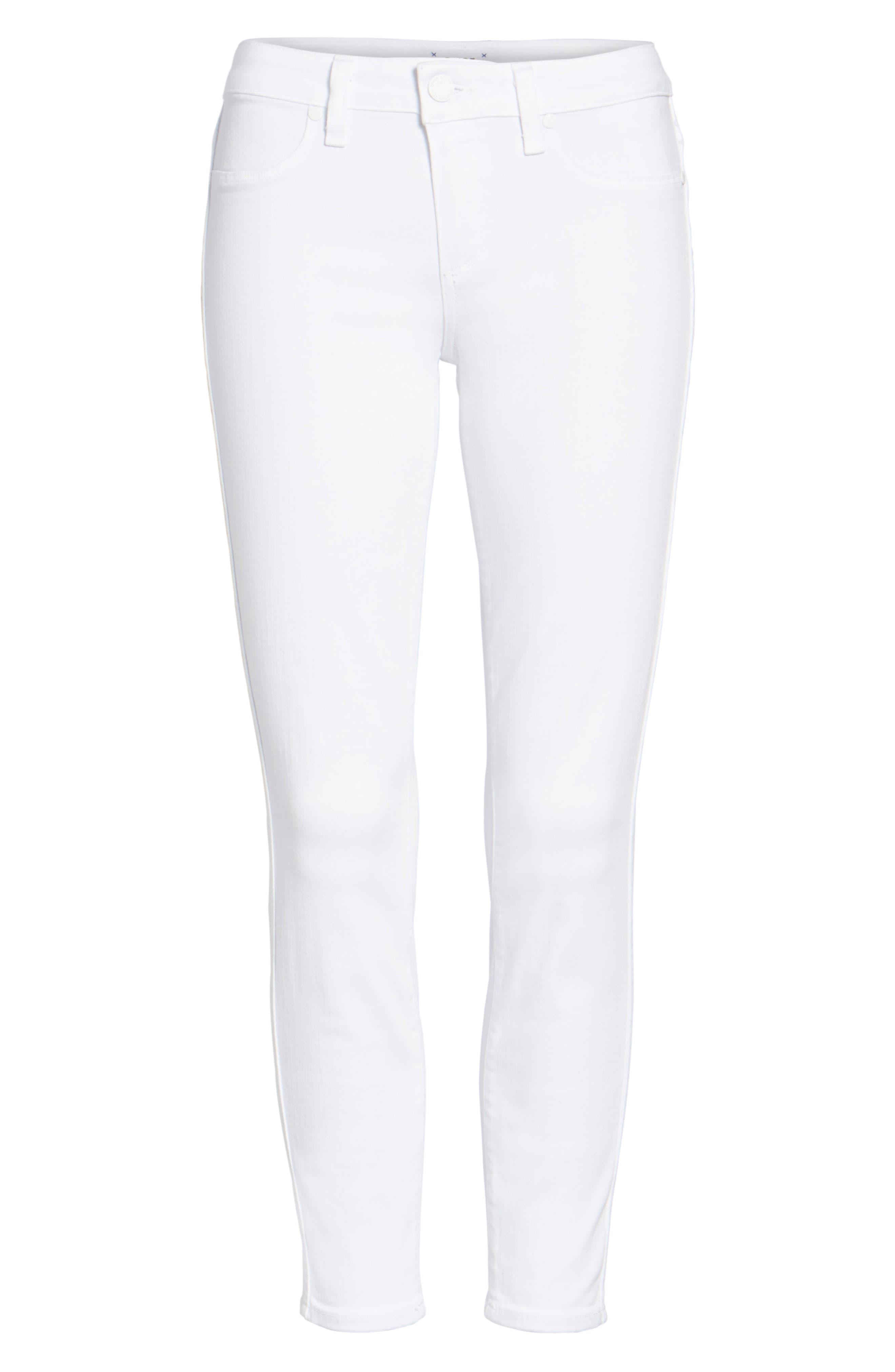 'Verdugo' Crop Skinny Jeans,                             Alternate thumbnail 2, color,                             ULTRA WHITE