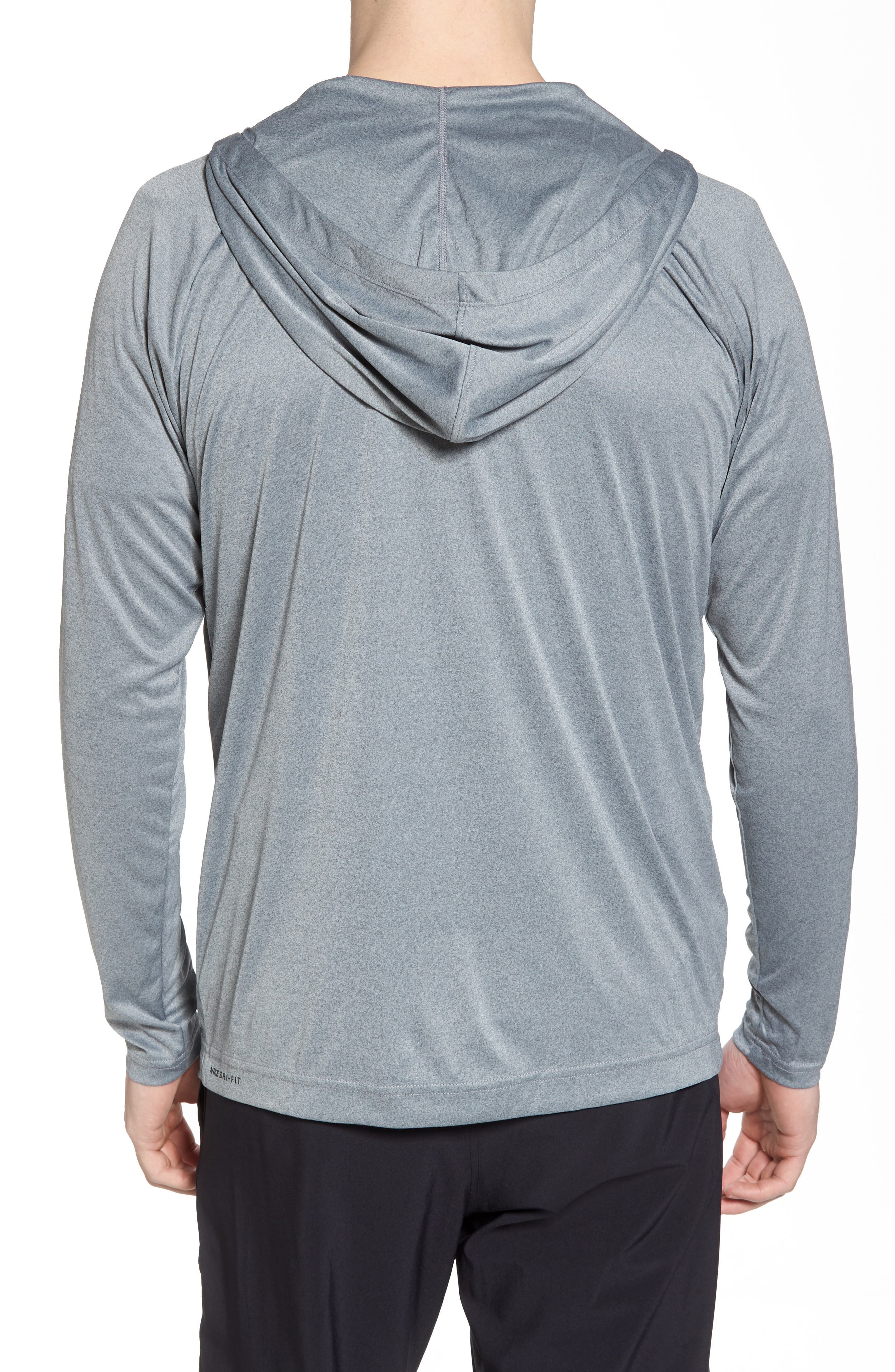 Icon Quick Dry Zip Hoodie,                             Alternate thumbnail 2, color,                             066