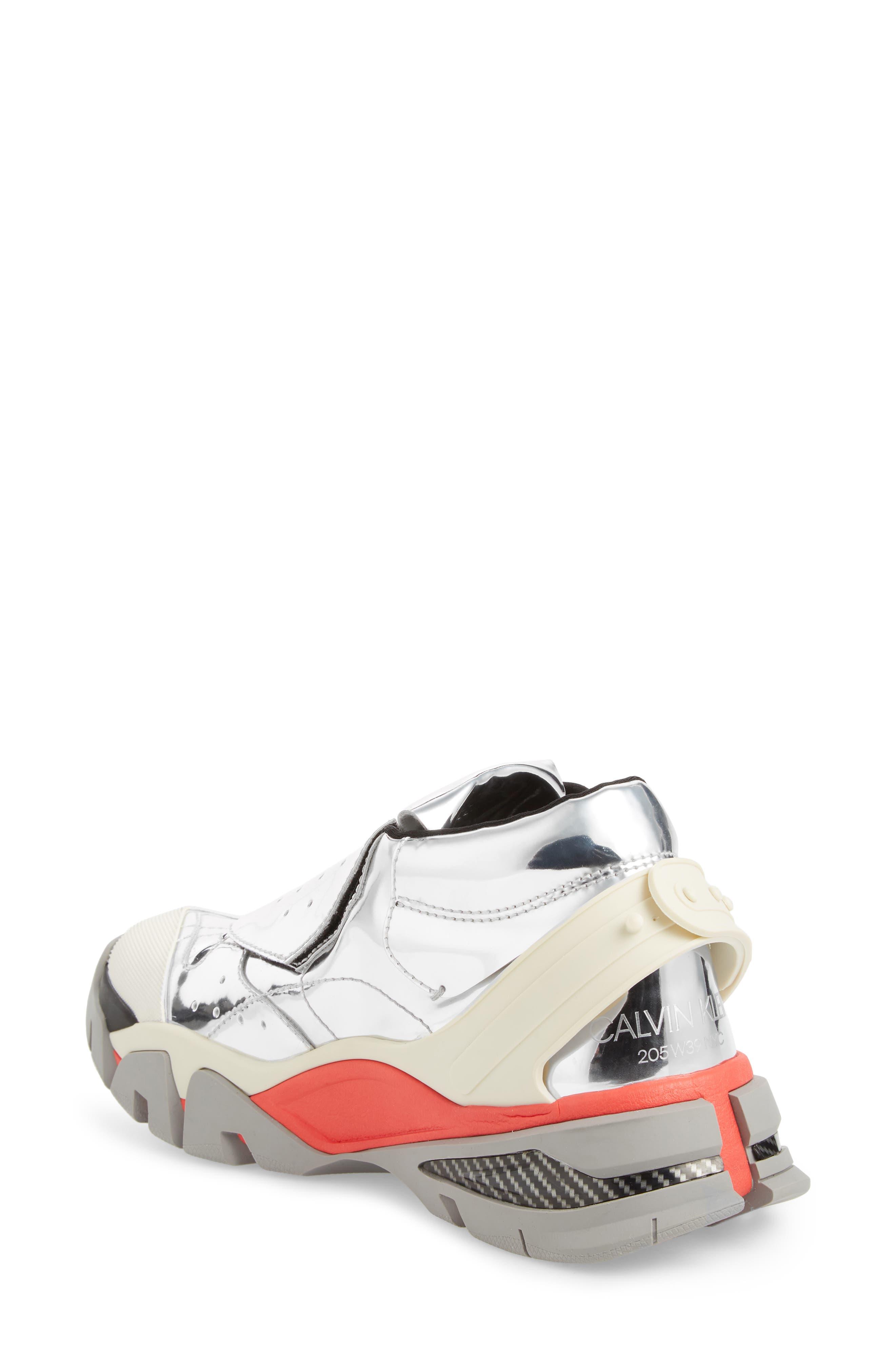 Carla Sneaker,                             Alternate thumbnail 2, color,                             SILVER