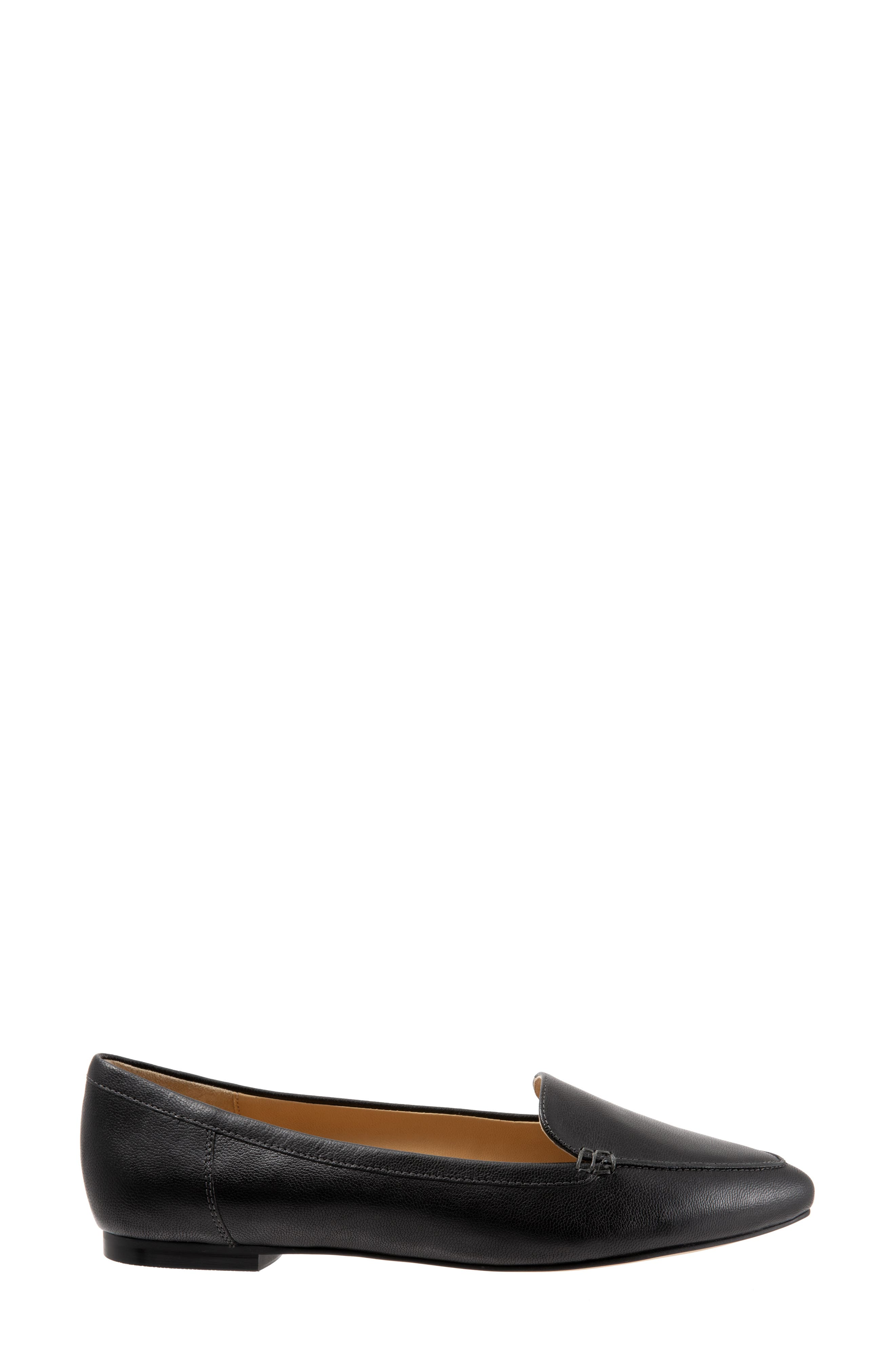 Ember Flat,                             Alternate thumbnail 3, color,                             BLACK LEATHER
