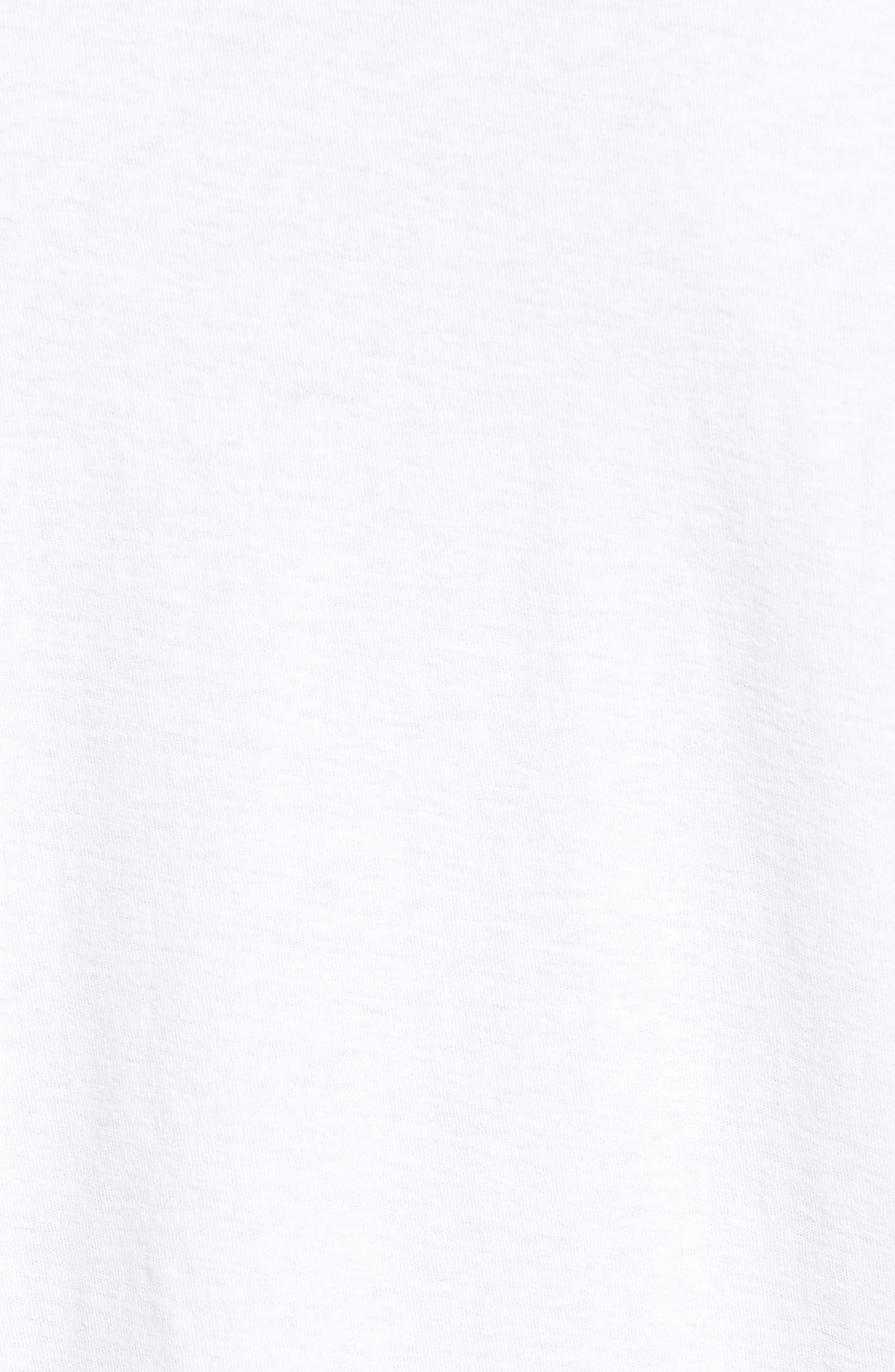 Long Sleeve Cotton Polo,                             Alternate thumbnail 5, color,                             100