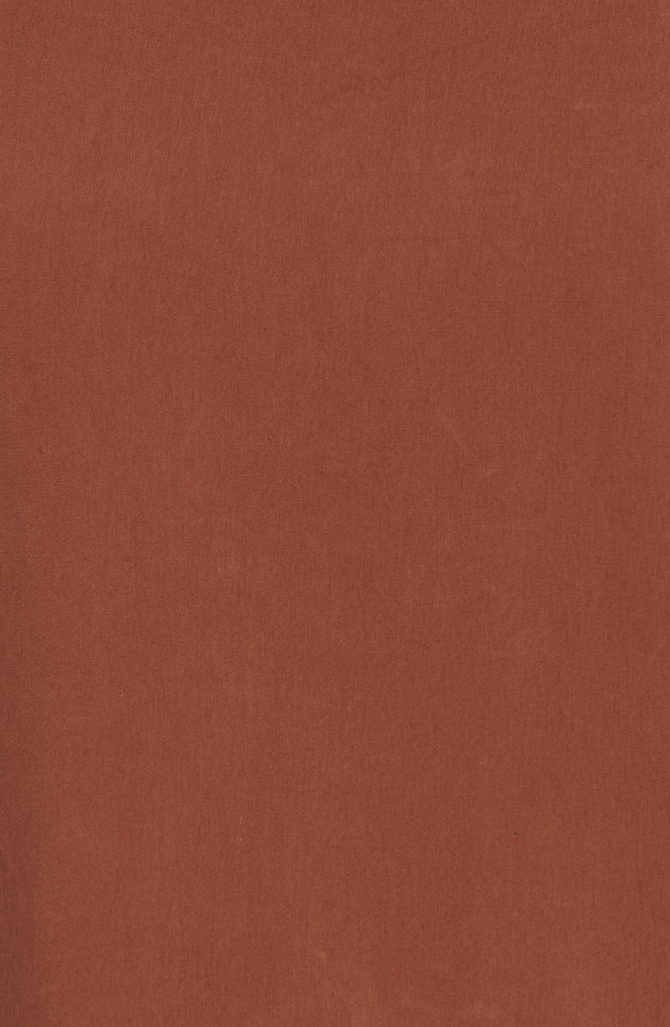 Contrast Trim Silk Top,                             Alternate thumbnail 6, color,                             242