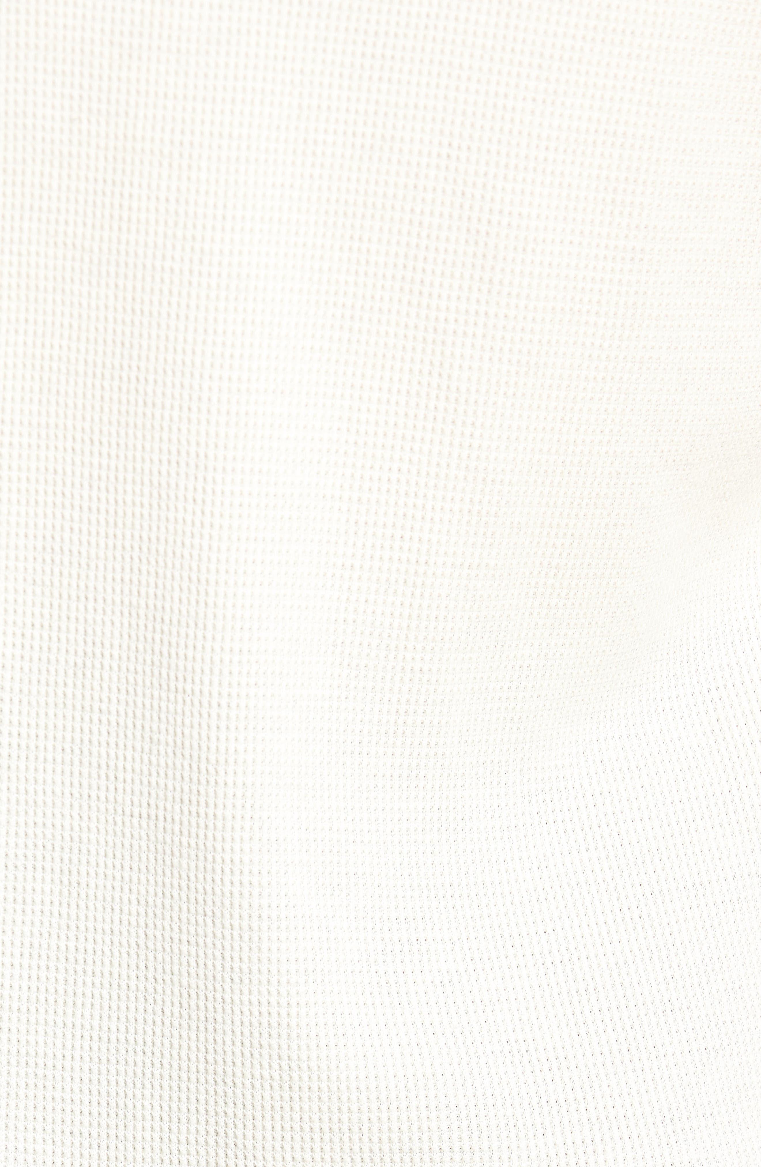 Thermal Knit Long Sleeve Henley T-Shirt,                             Alternate thumbnail 5, color,                             101