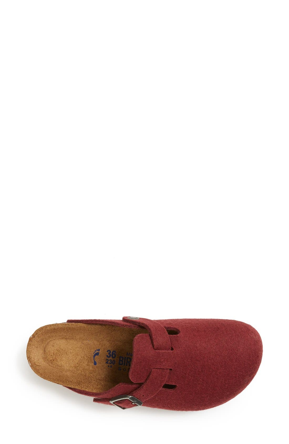 'Boston' Classic Oiled Leather Clog,                             Alternate thumbnail 45, color,