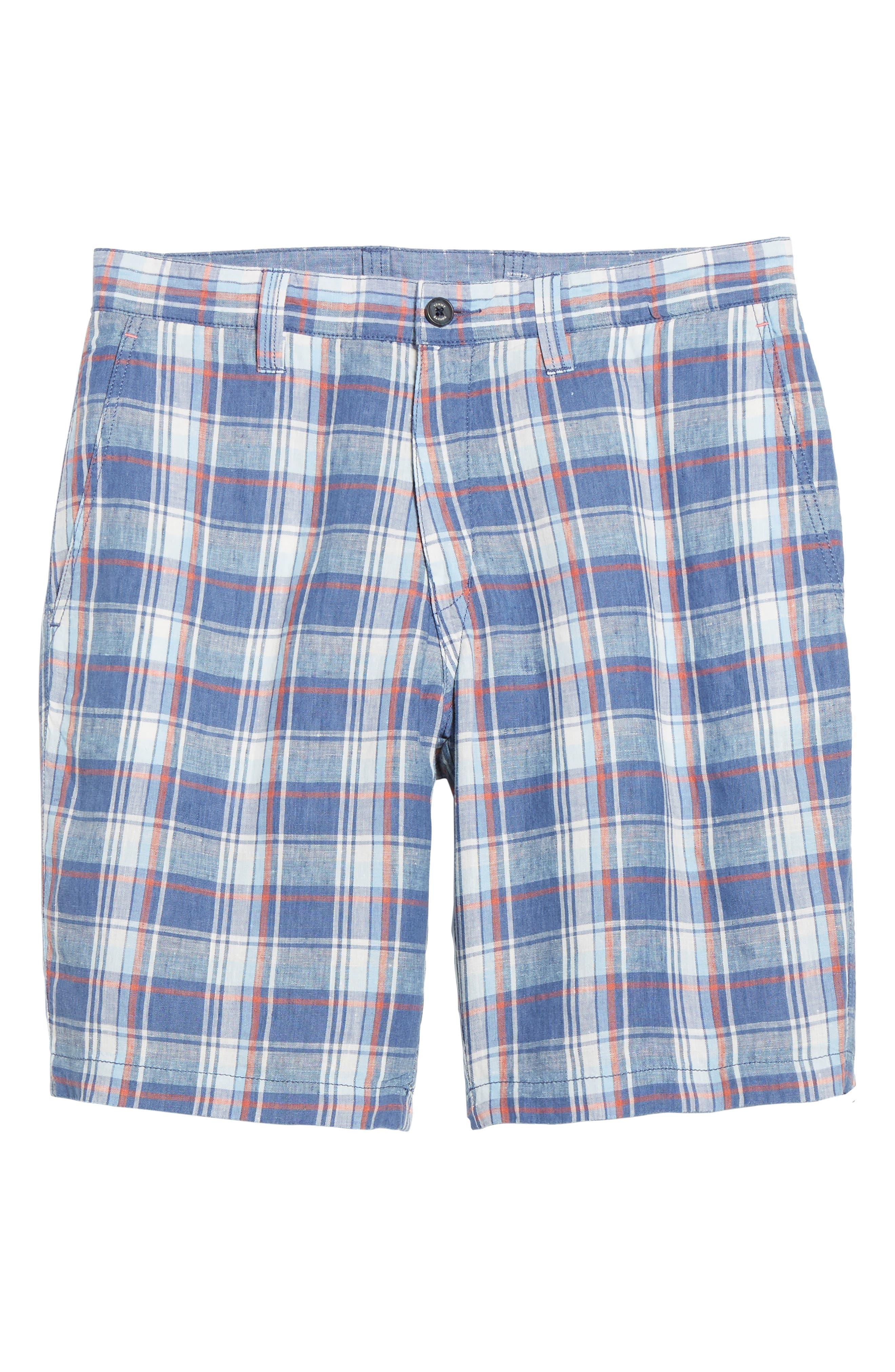 Plaid De Leon Reversible Shorts,                             Alternate thumbnail 14, color,