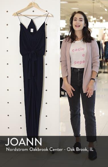 Domino Knot Maxi Dress, sales video thumbnail