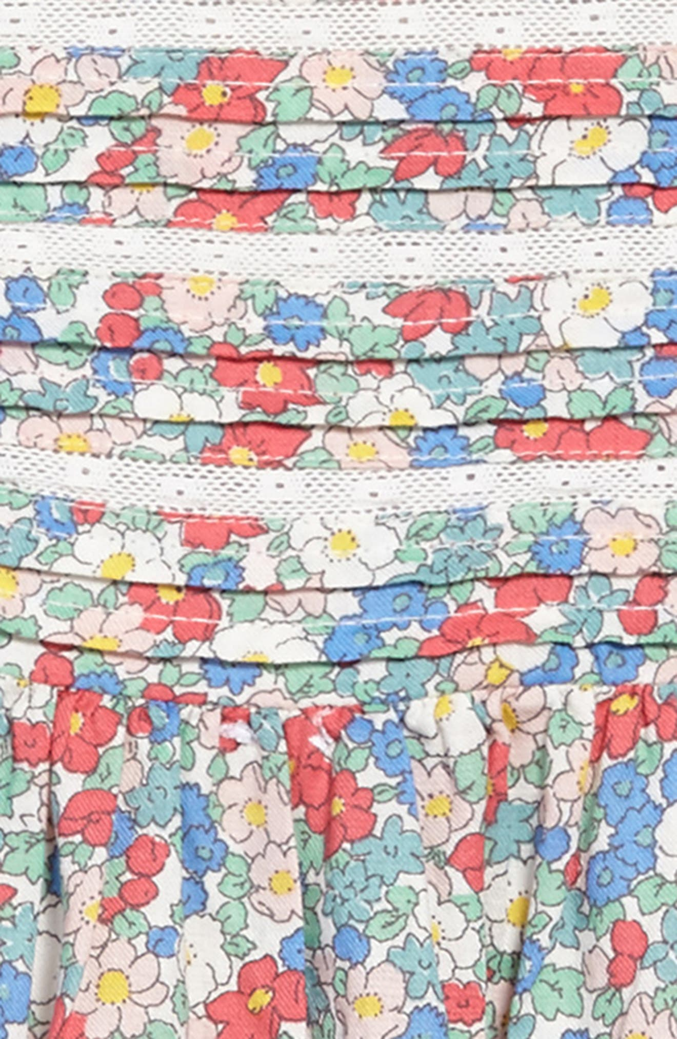 Nostalgic Woven Dress,                             Alternate thumbnail 3, color,                             606