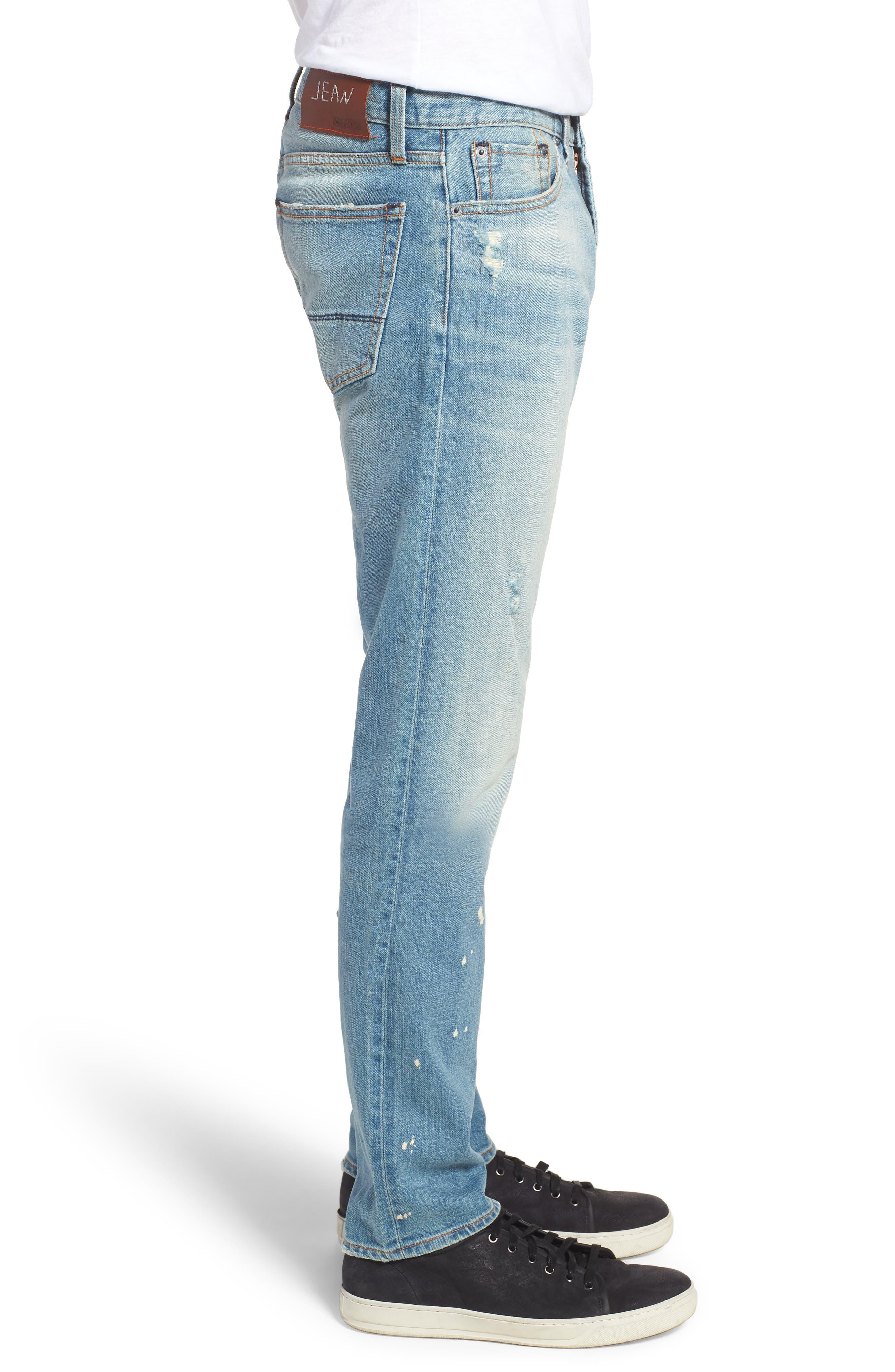 Jim Slim Fit Jeans,                             Alternate thumbnail 3, color,                             HOLLIS