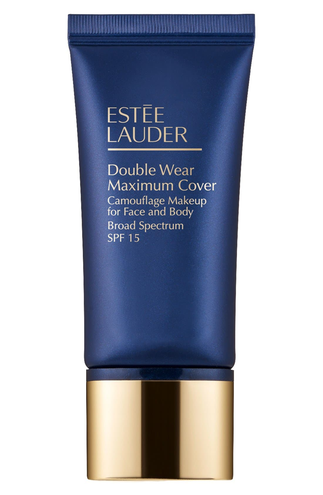 Double Wear Maximum Cover Camouflage Makeup for Face and Body SPF 15,                             Main thumbnail 1, color,                             MEDIUM DEEP