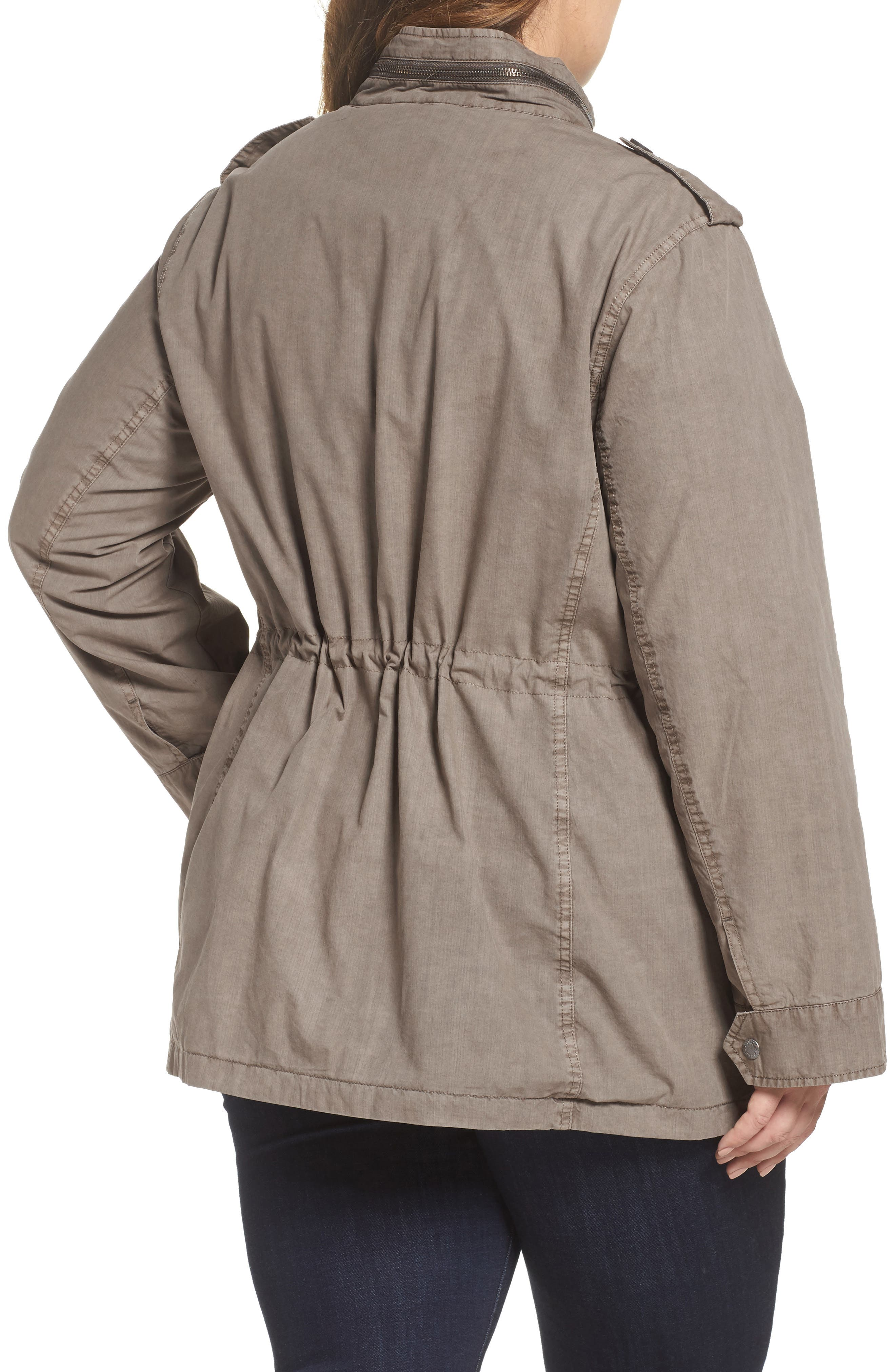 Cotton Military Jacket,                             Alternate thumbnail 2, color,                             033