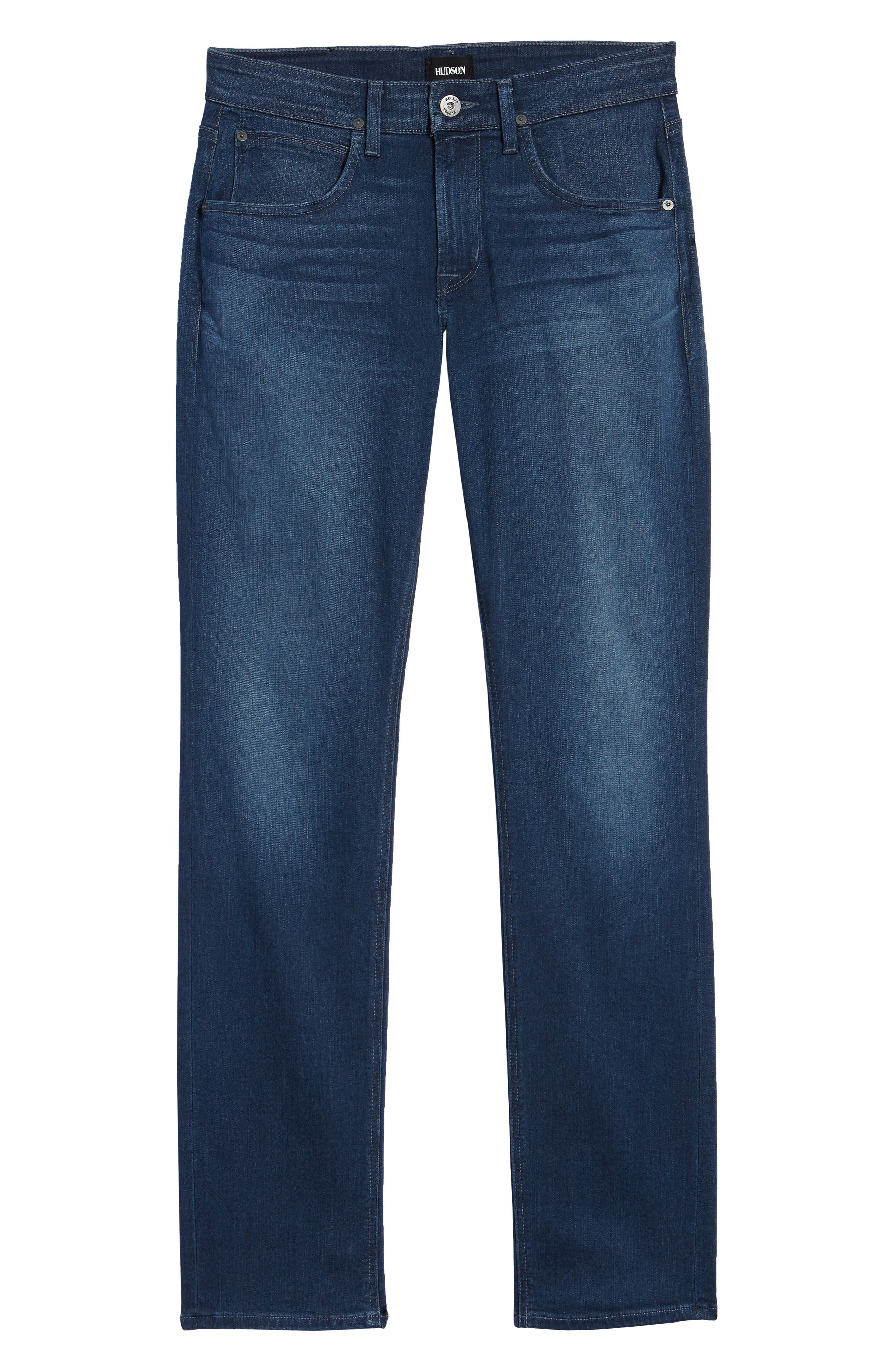Byron Slim Straight Leg Jeans,                             Alternate thumbnail 6, color,                             403