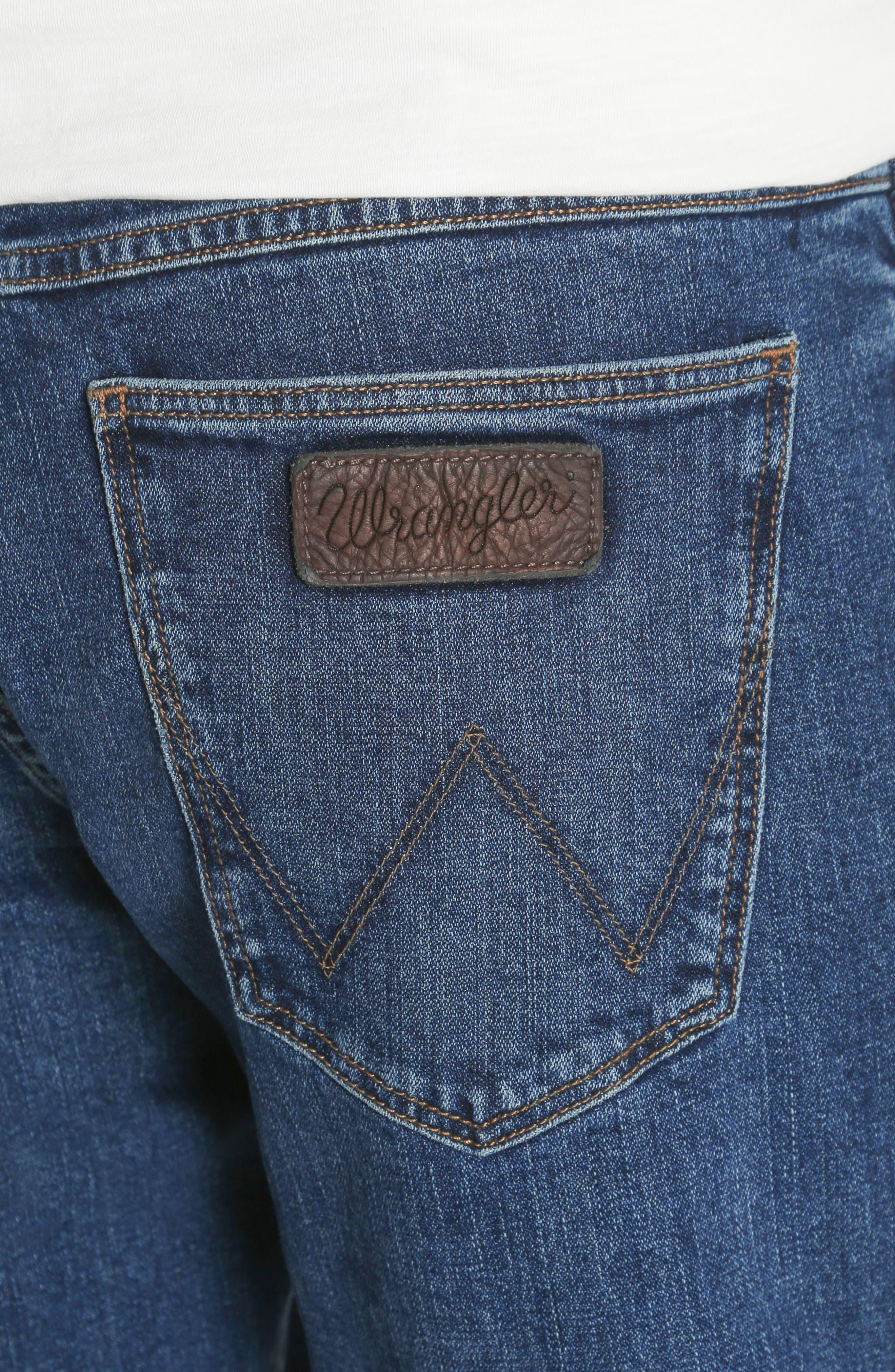 Greensboro Straight Leg Jeans,                             Alternate thumbnail 4, color,                             GOOD THING