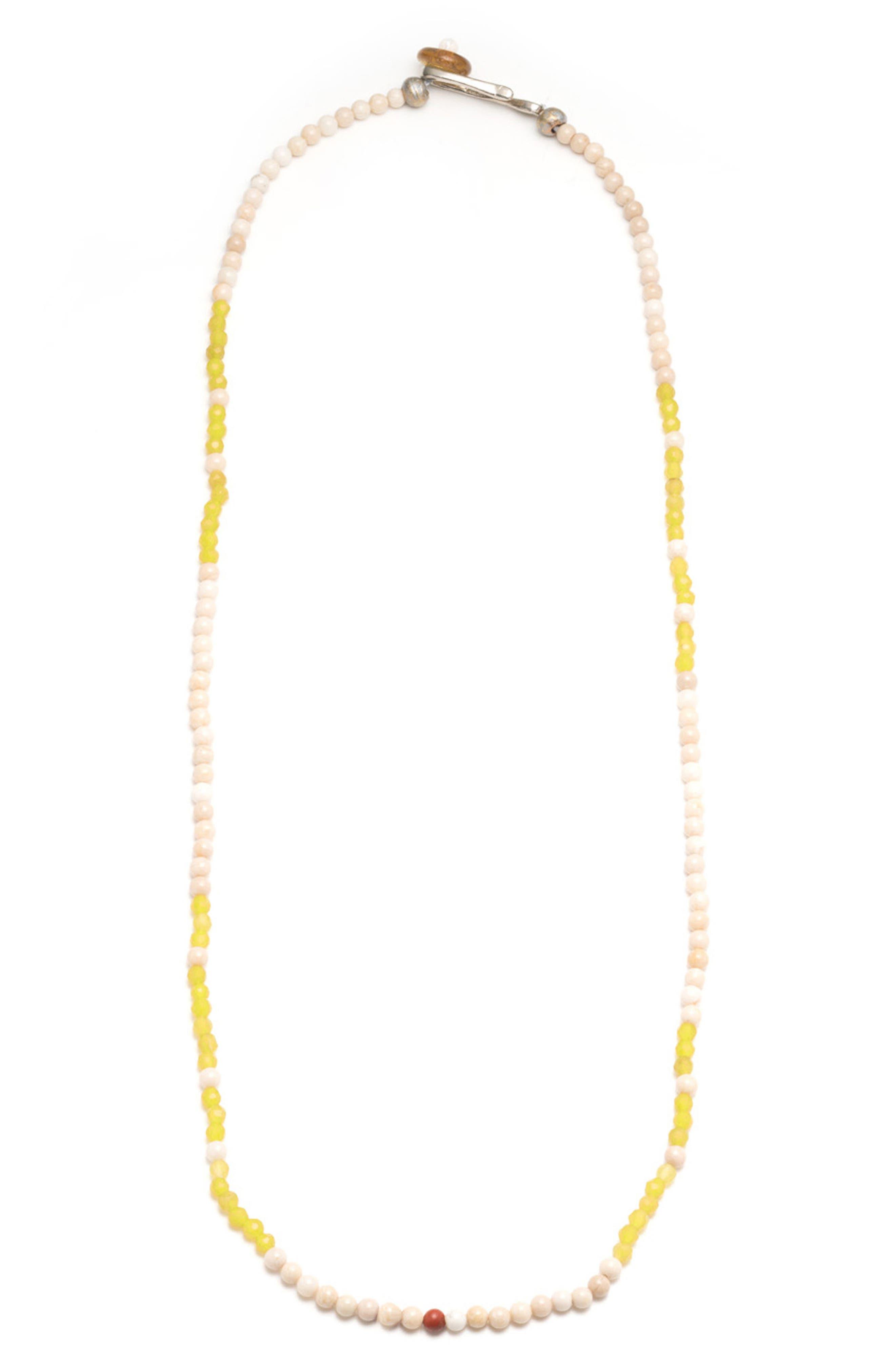 Luck Morse Necklace,                             Main thumbnail 1, color,                             700