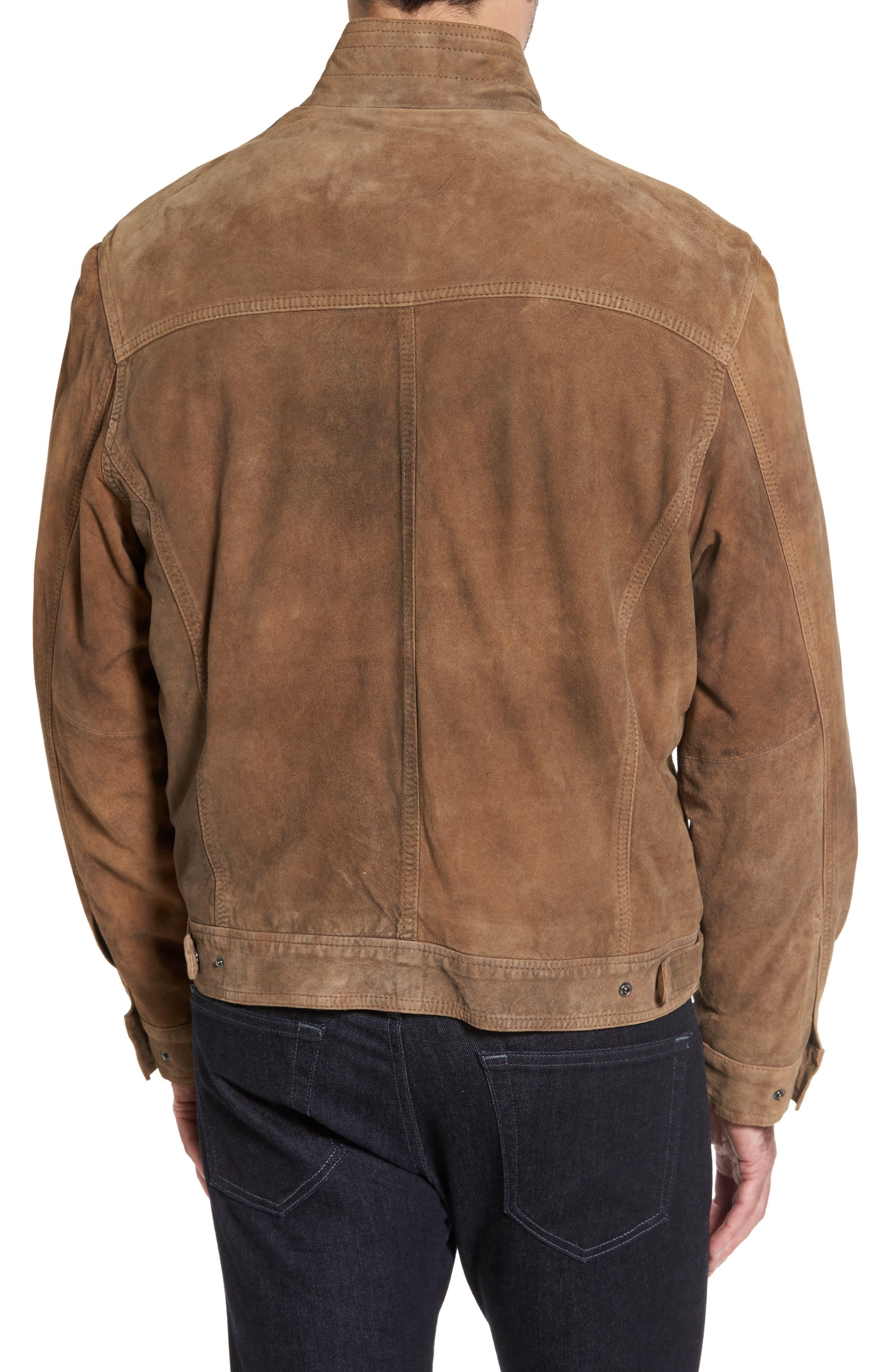 Lambskin Suede Jacket,                             Alternate thumbnail 2, color,                             210