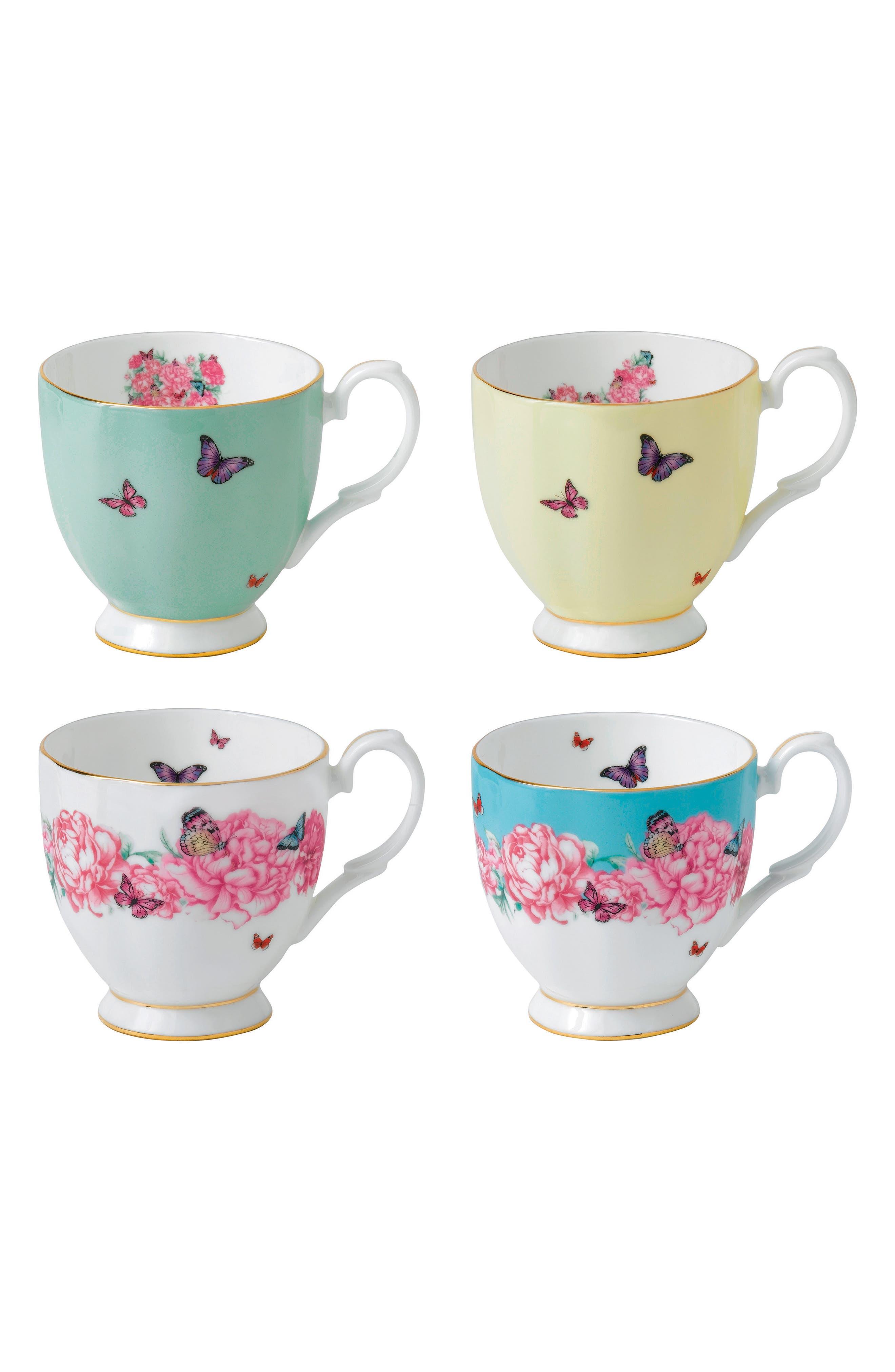 Set of 4 Mugs,                         Main,                         color, 100
