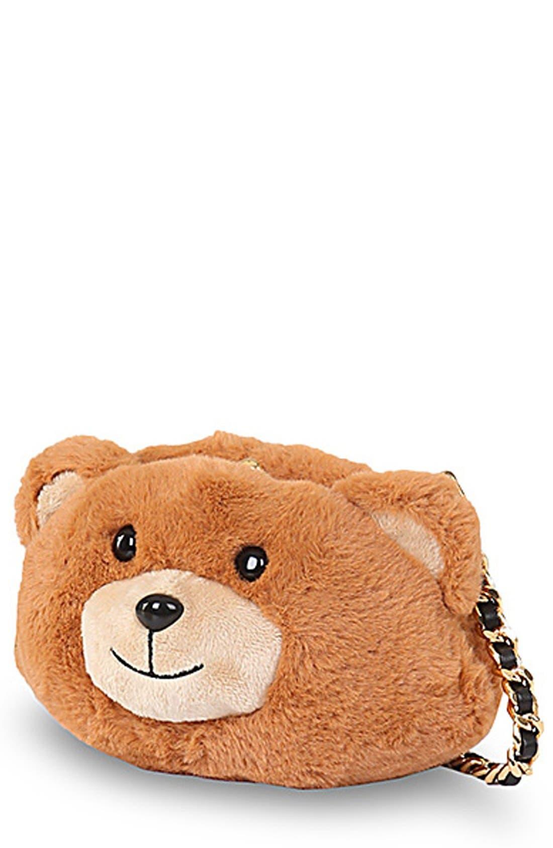 Teddy Bear Crossbody Bag,                             Alternate thumbnail 3, color,                             200