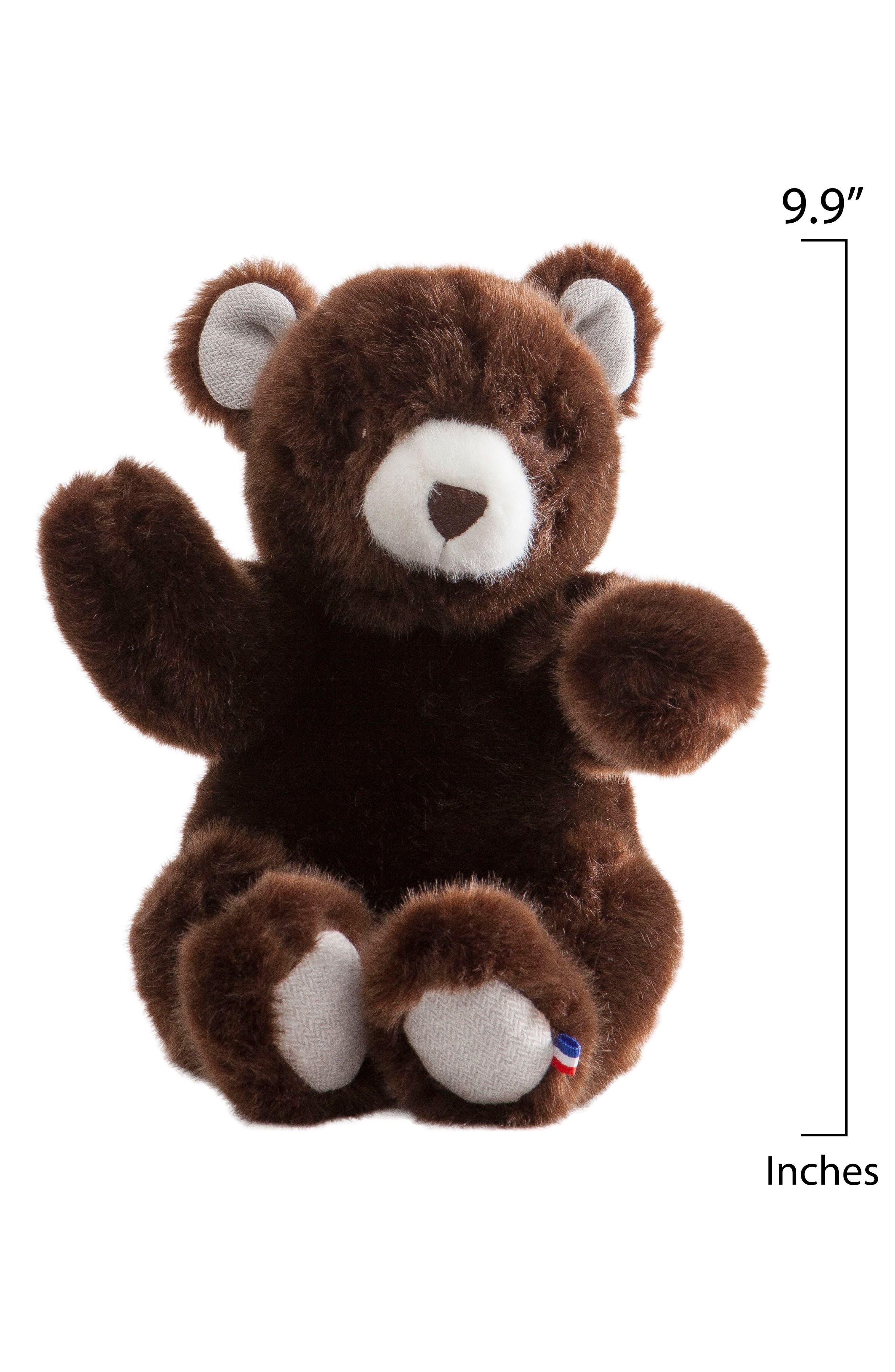 Robert the Bear Stuffed Animal,                             Alternate thumbnail 2, color,                             BROWN