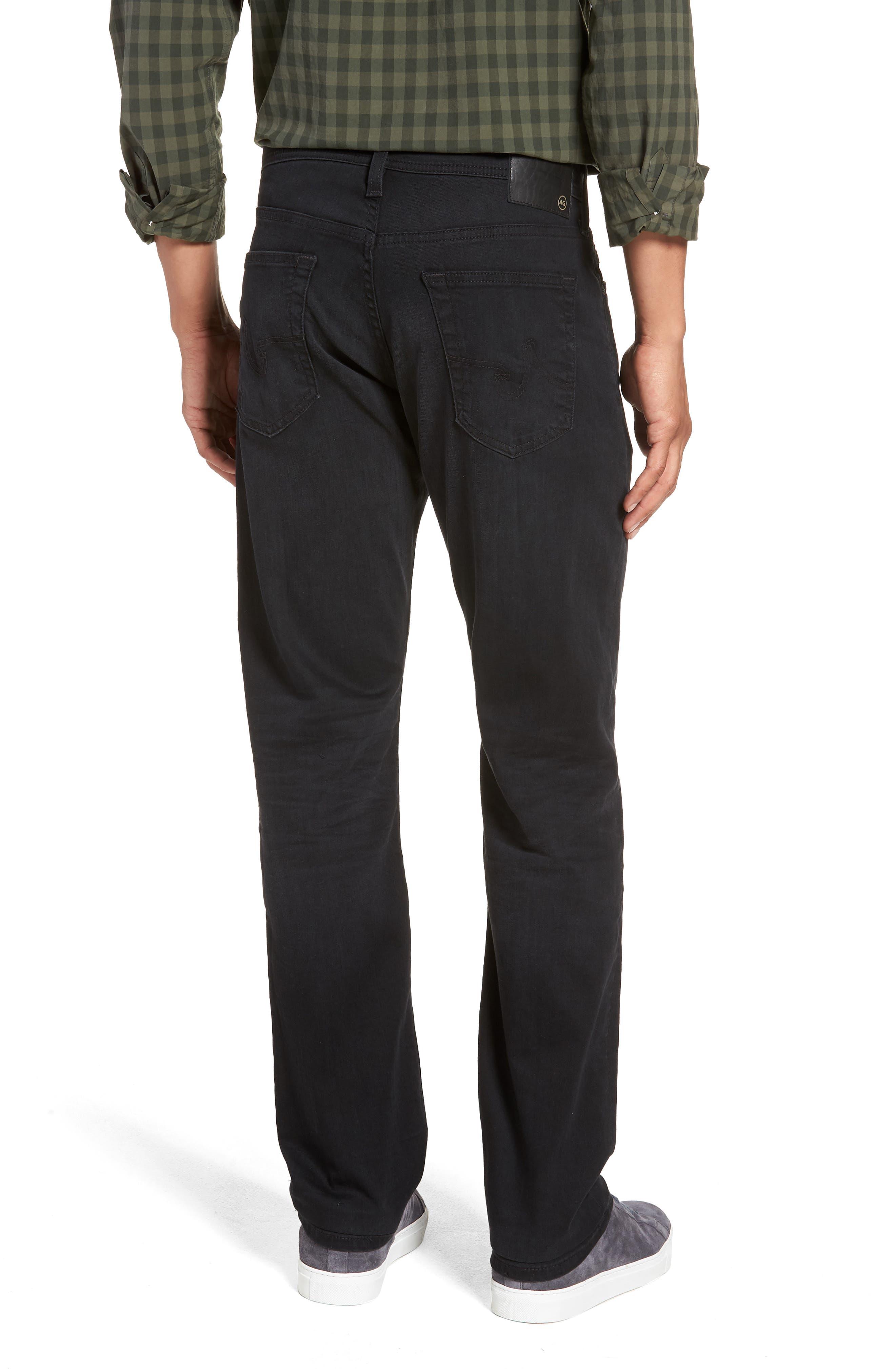 Everett Slim Straight Leg Jeans,                             Alternate thumbnail 2, color,                             001