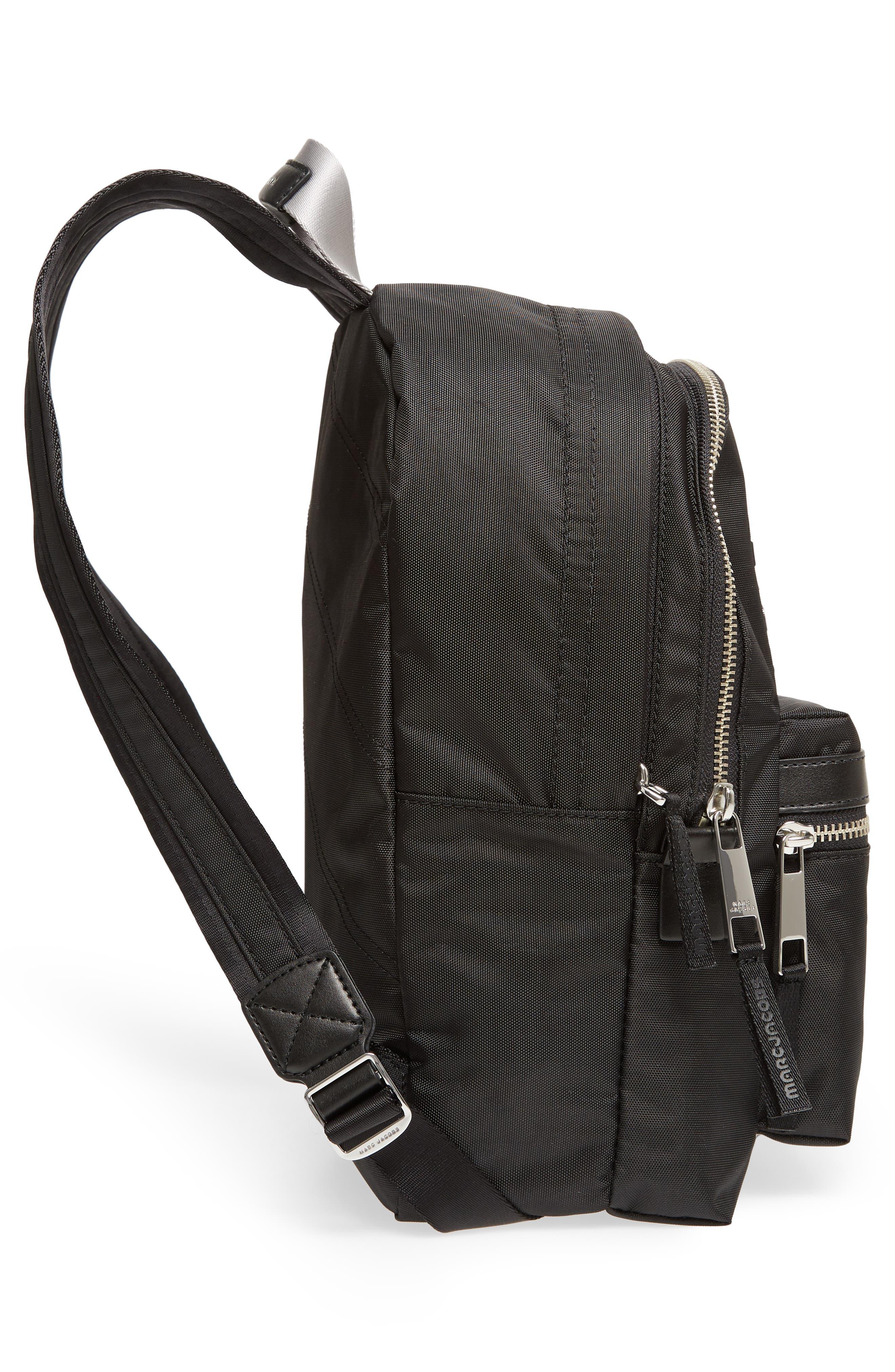 Medium Sport Trek Backpack,                             Alternate thumbnail 5, color,                             BLACK