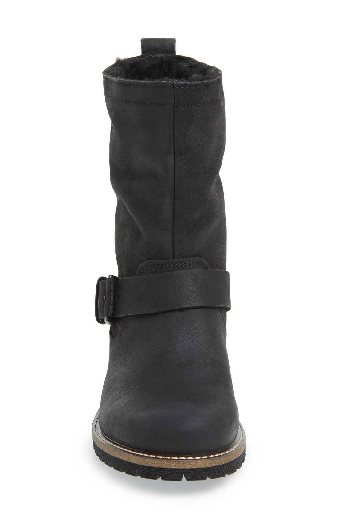 'Elaine' Buckle Boot,                             Alternate thumbnail 3, color,                             001