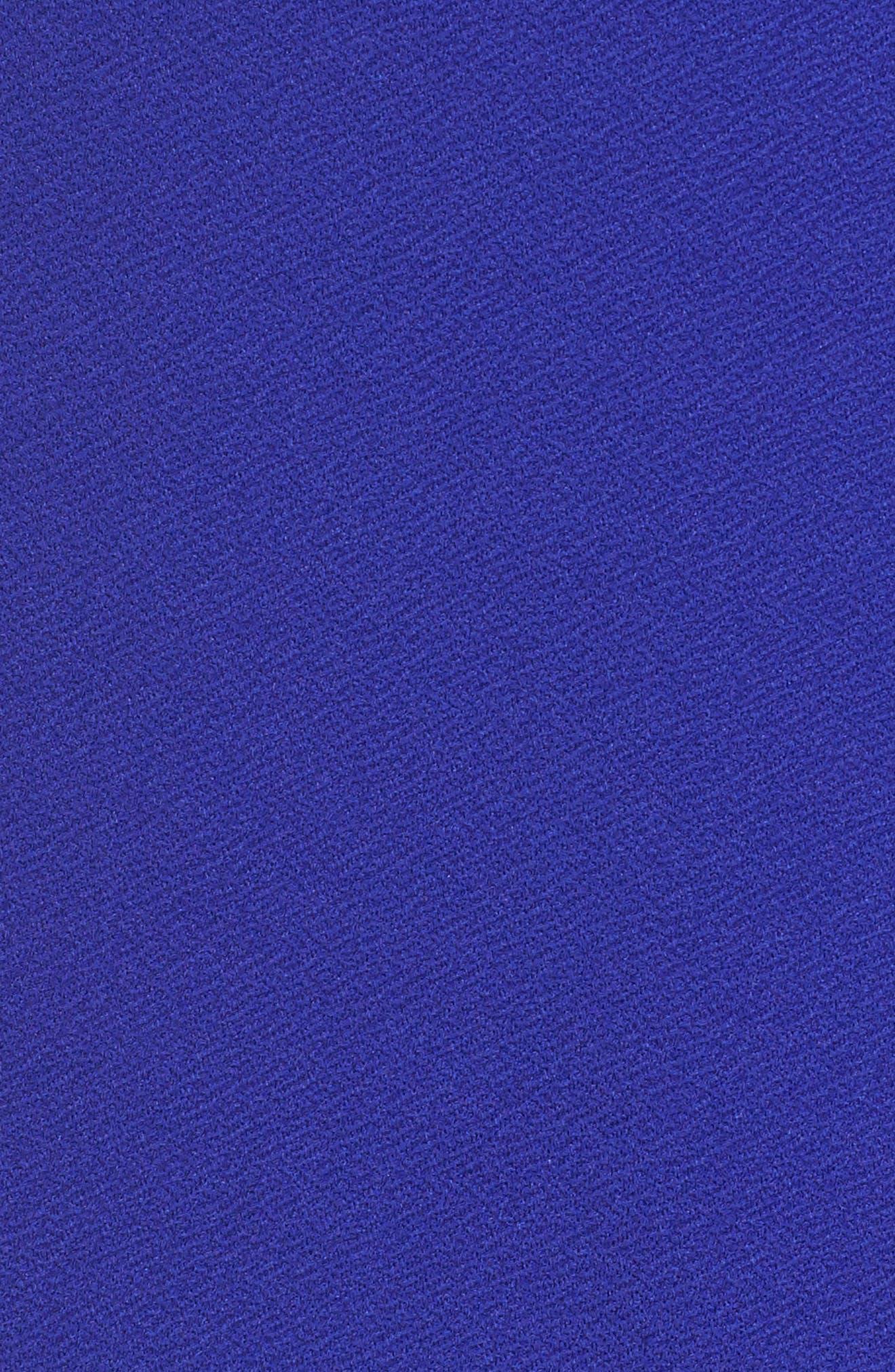 Ring Tie Wrap Dress,                             Alternate thumbnail 6, color,                             400