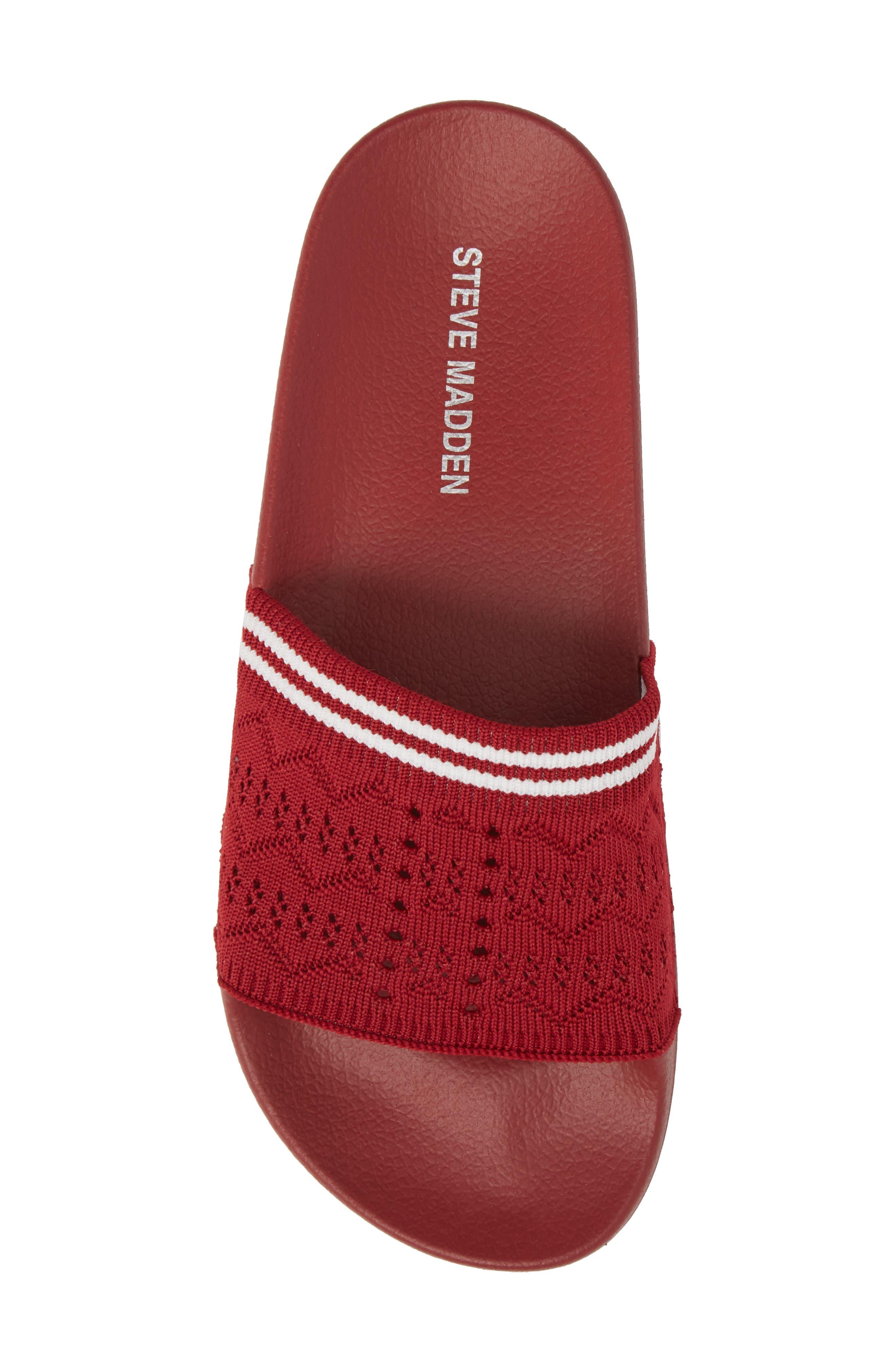 Vibe Sock Knit Slide Sandal,                             Alternate thumbnail 24, color,