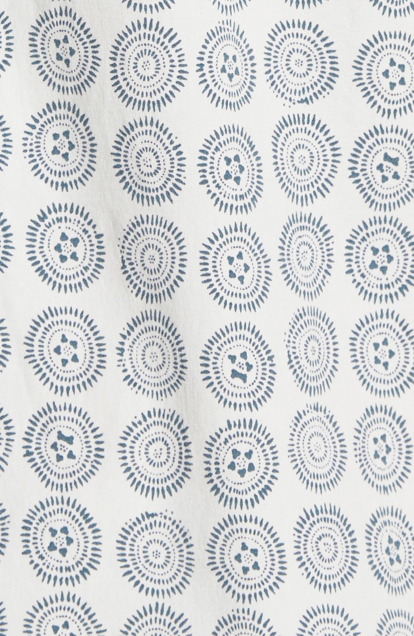 Sea Crest Slim Fit Print Camp Shirt,                             Alternate thumbnail 10, color,