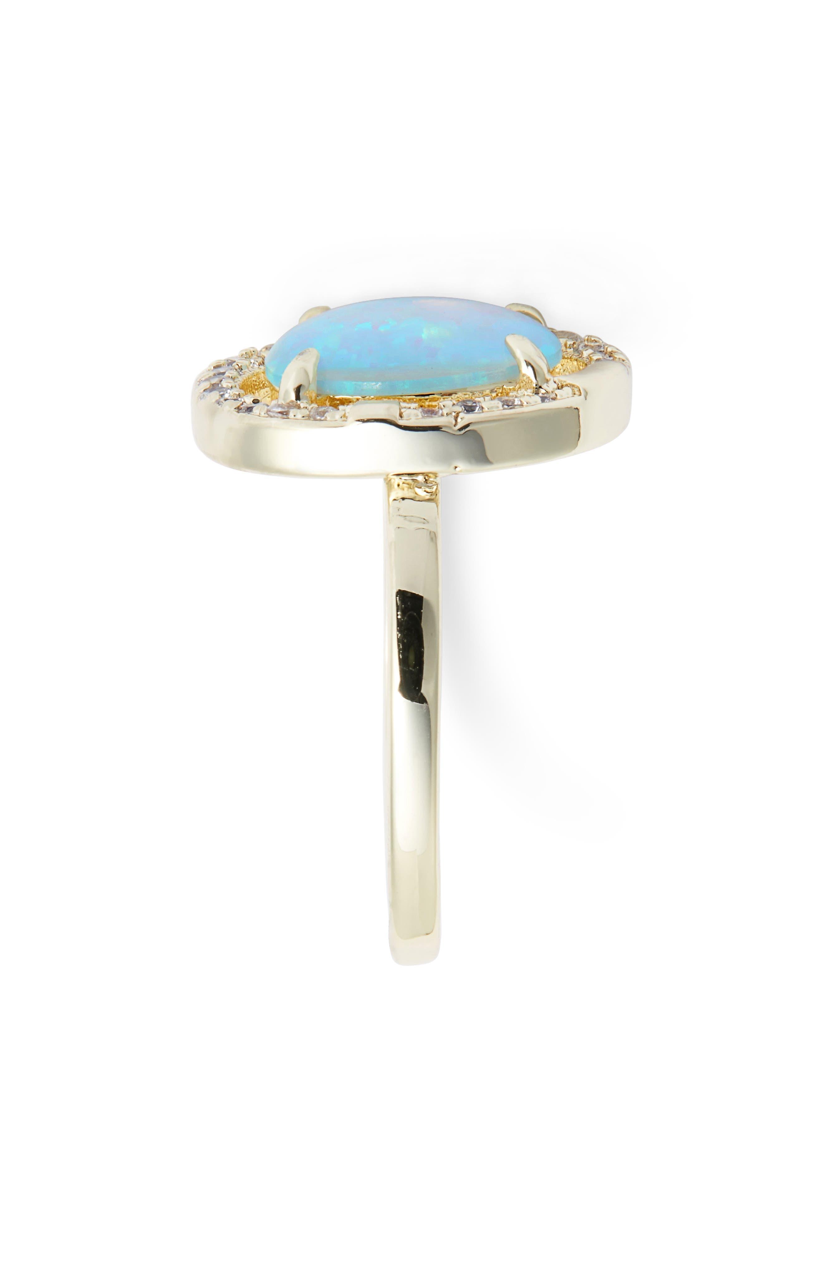 Elizabeth Opal Ring,                             Alternate thumbnail 2, color,