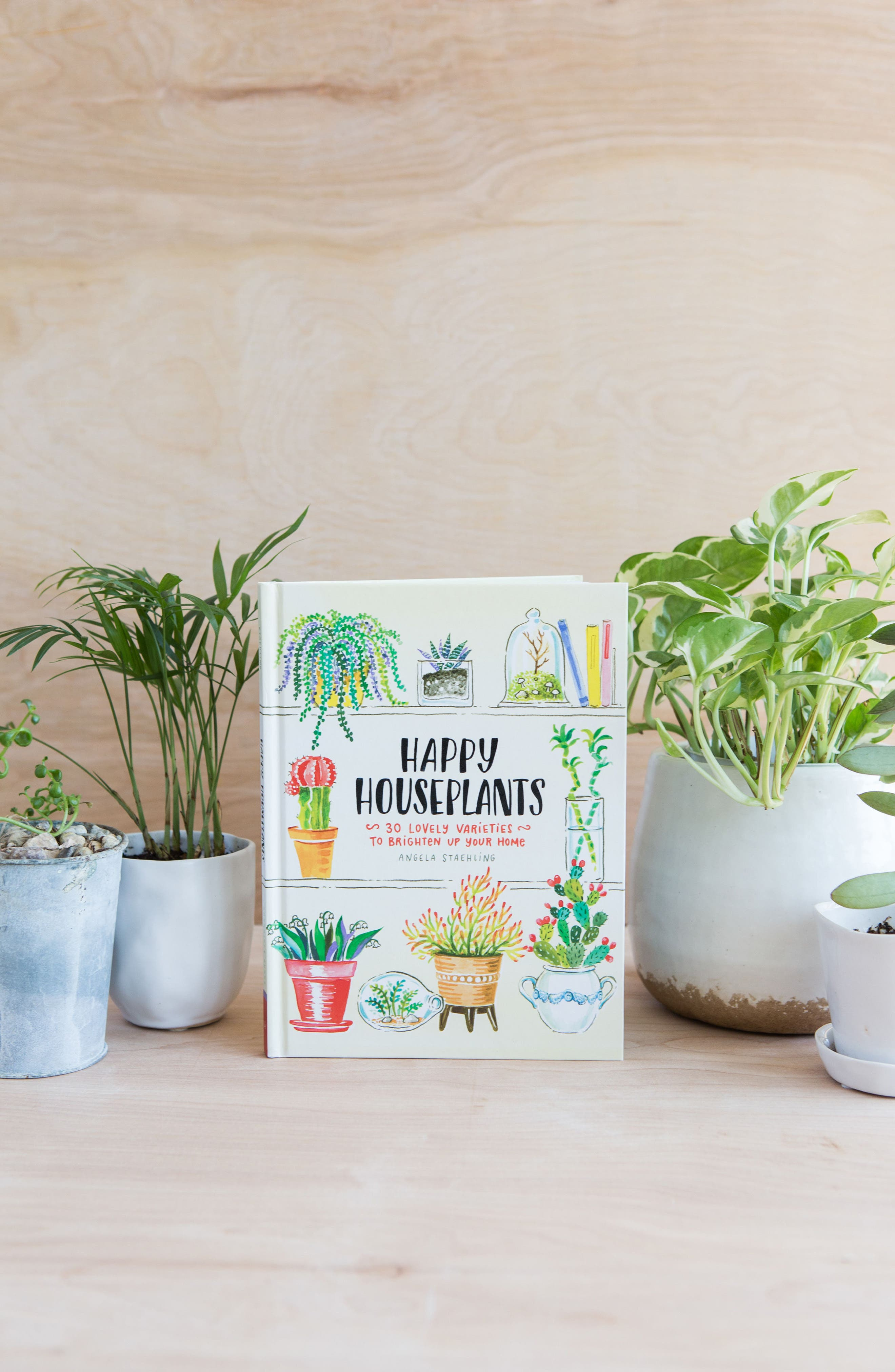 'Happy Houseplants: 30 Lovely Varieties to Brighten Up Your Home' Book,                             Alternate thumbnail 5, color,