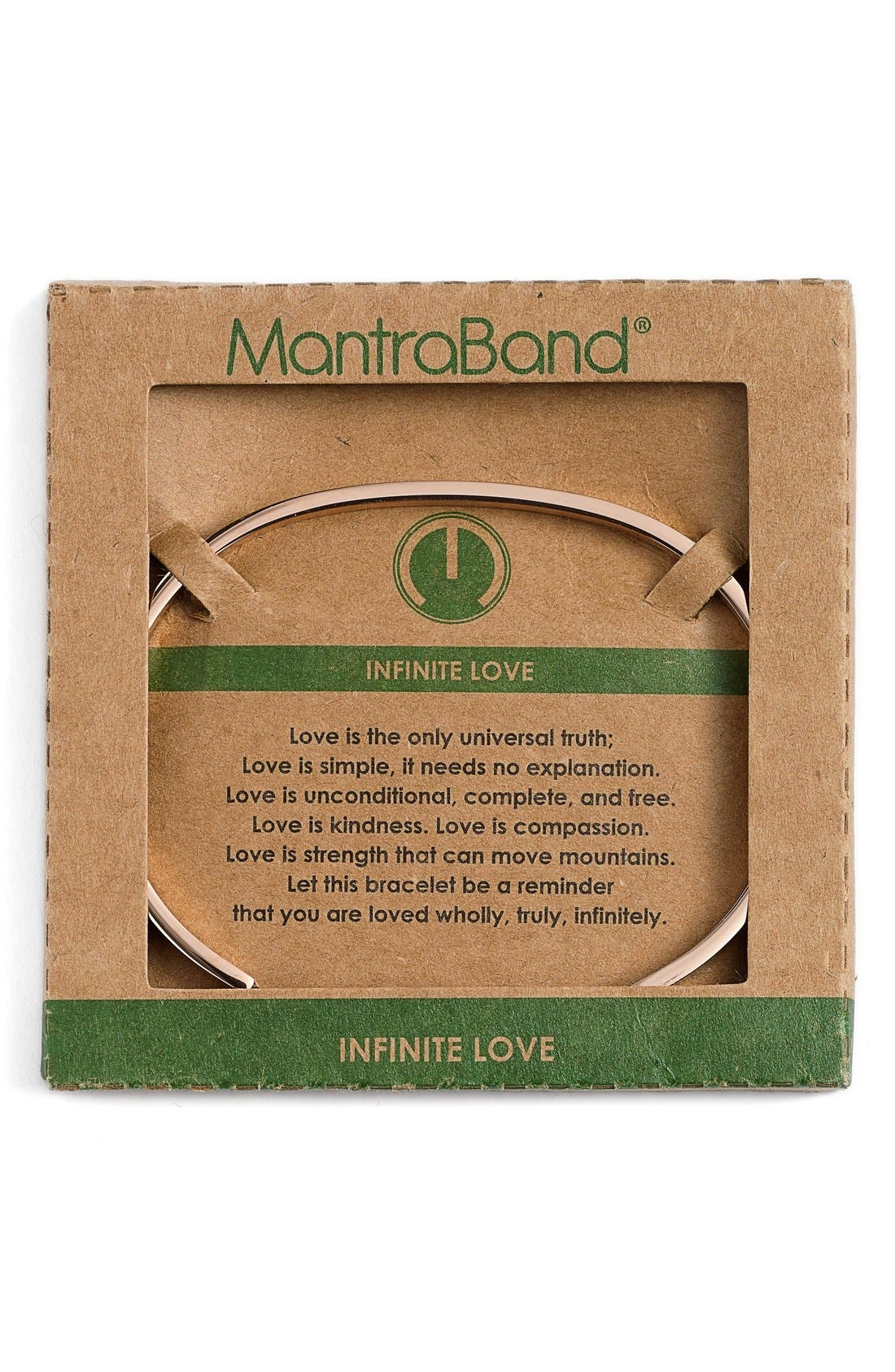 'Infinite Love' Cuff,                             Alternate thumbnail 2, color,                             ROSEGOLD