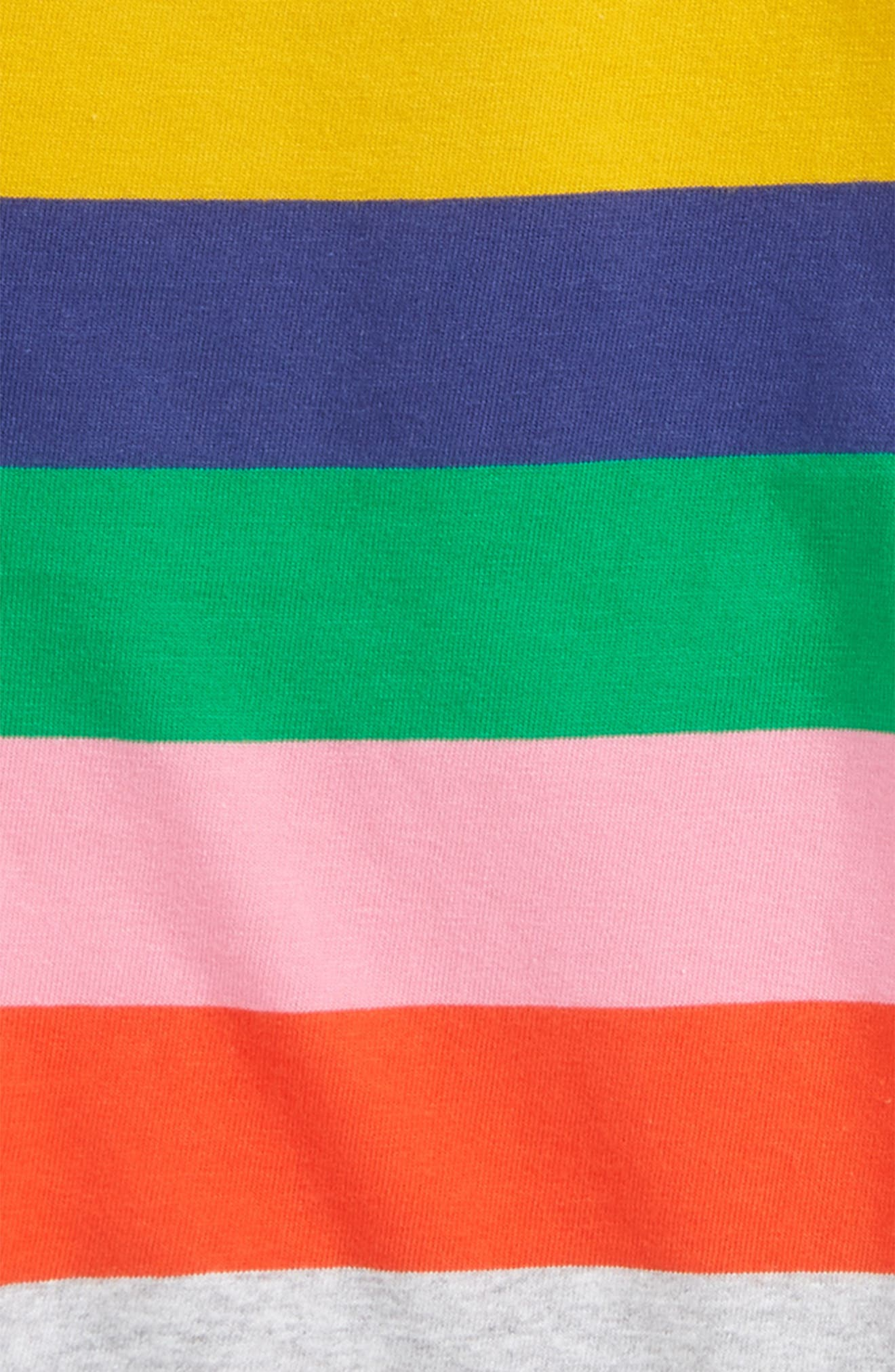 Colourfully Stripy Tee,                             Alternate thumbnail 2, color,                             601